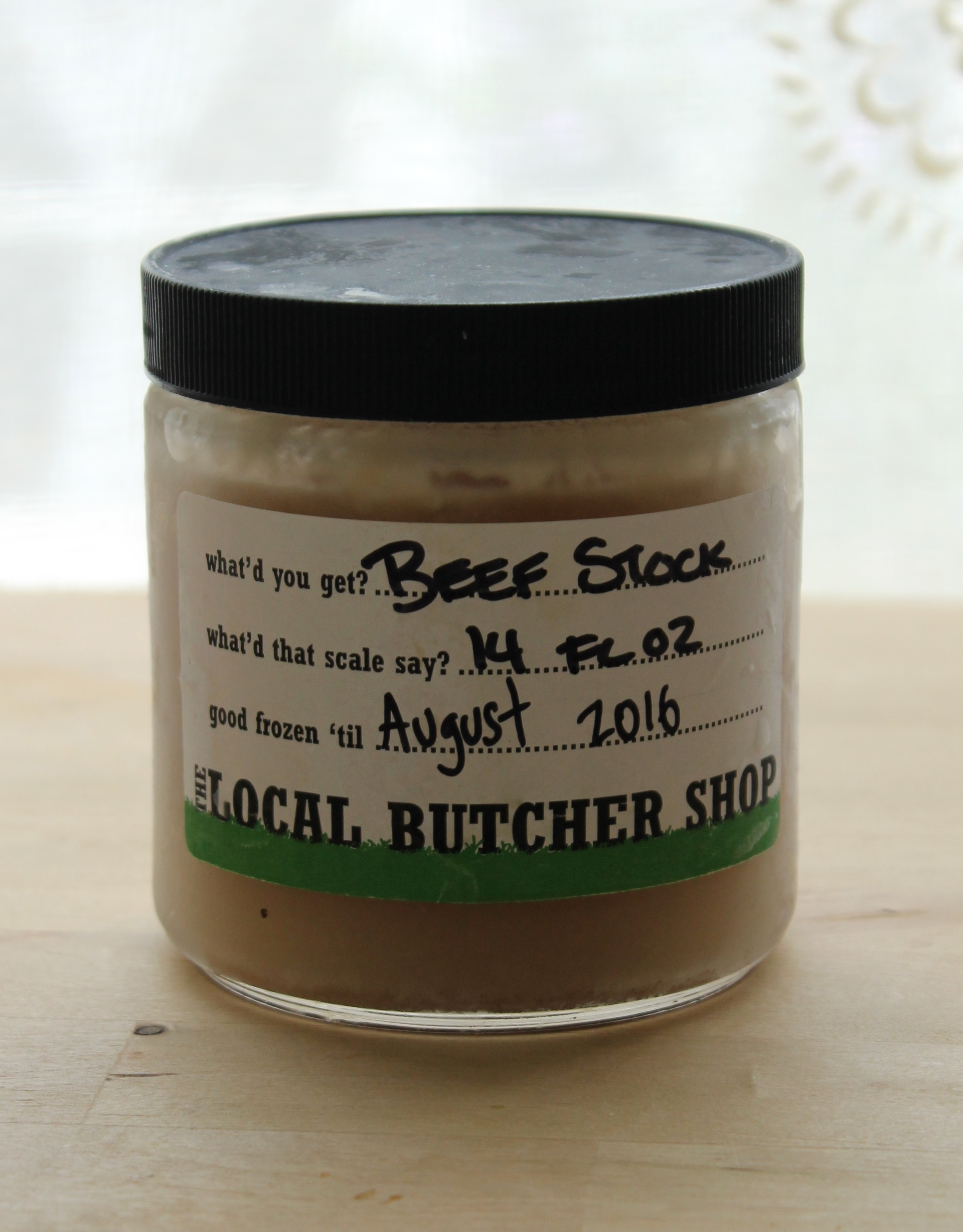 The Local Butcher Shop Beef Stock.