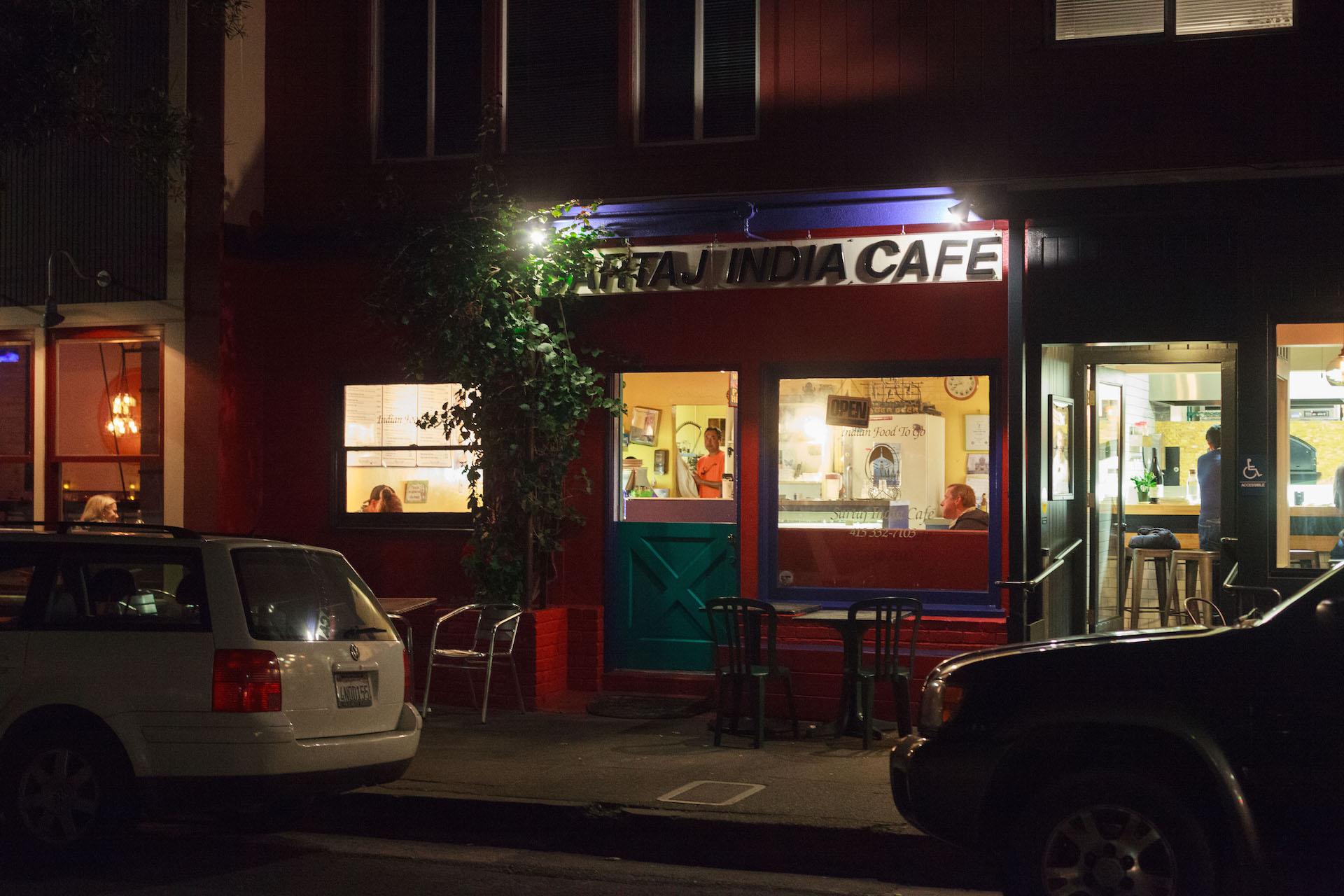 Sartaj India Cafe in Sausalito.