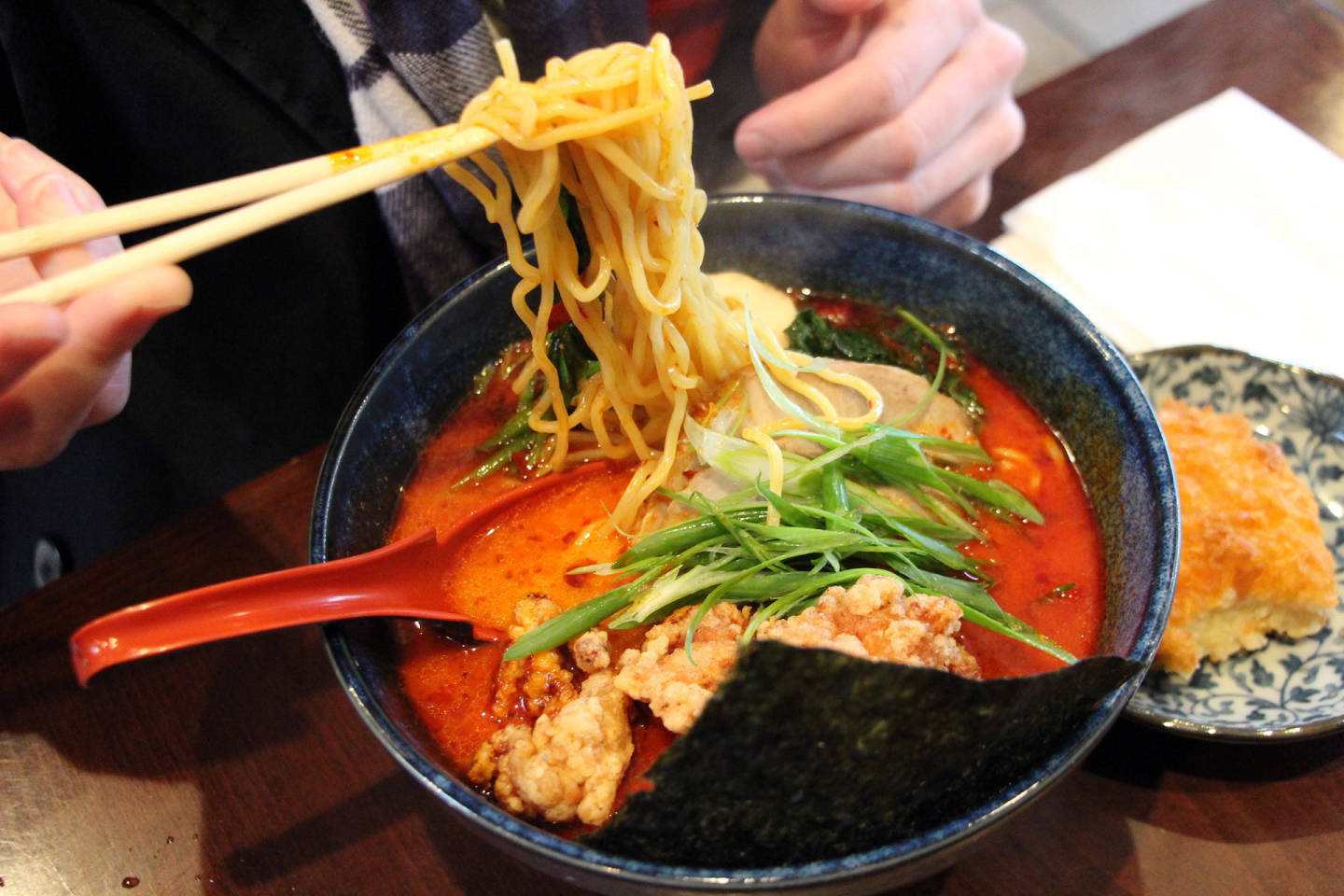 Sawaii Ramen's spicy mala. Wendy Goodfriend