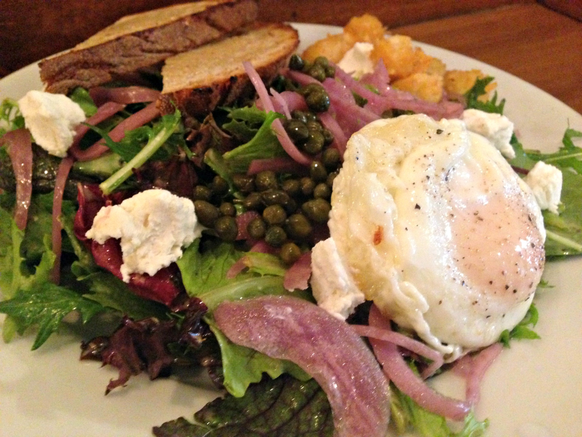 The Breakfast Salad at Stag's.