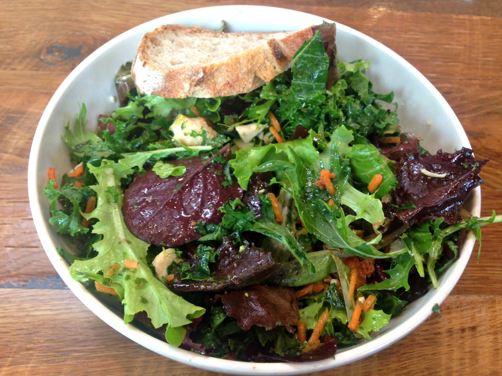 A spring chicken salad from sweetgreen.