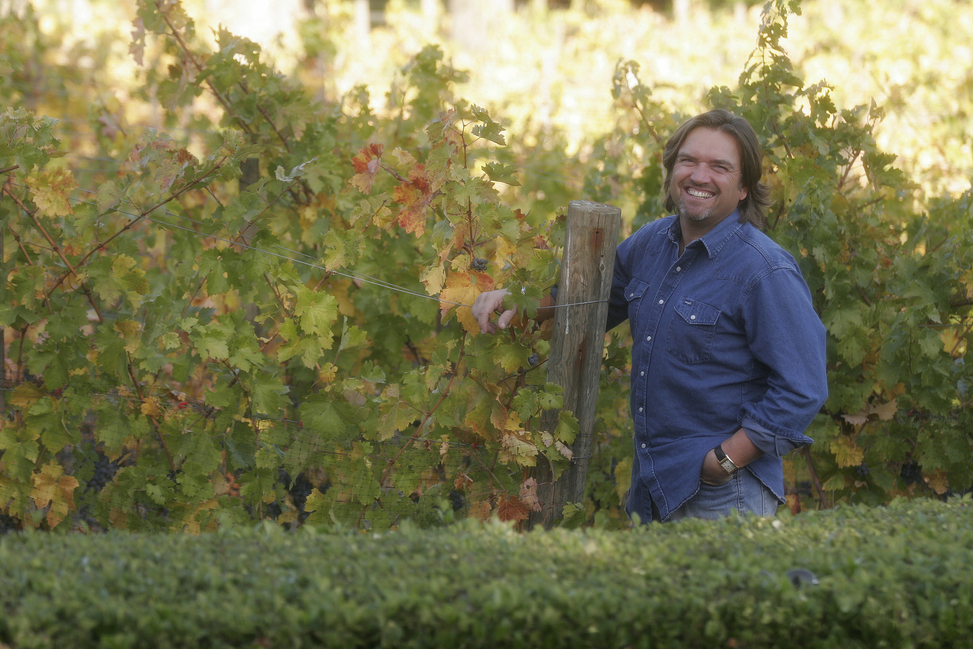 Winemaker Ron Mosley has been making wine for over 30 years and currently manages 80 vineyards located from Woodside to Gilroy, where his winery is located.