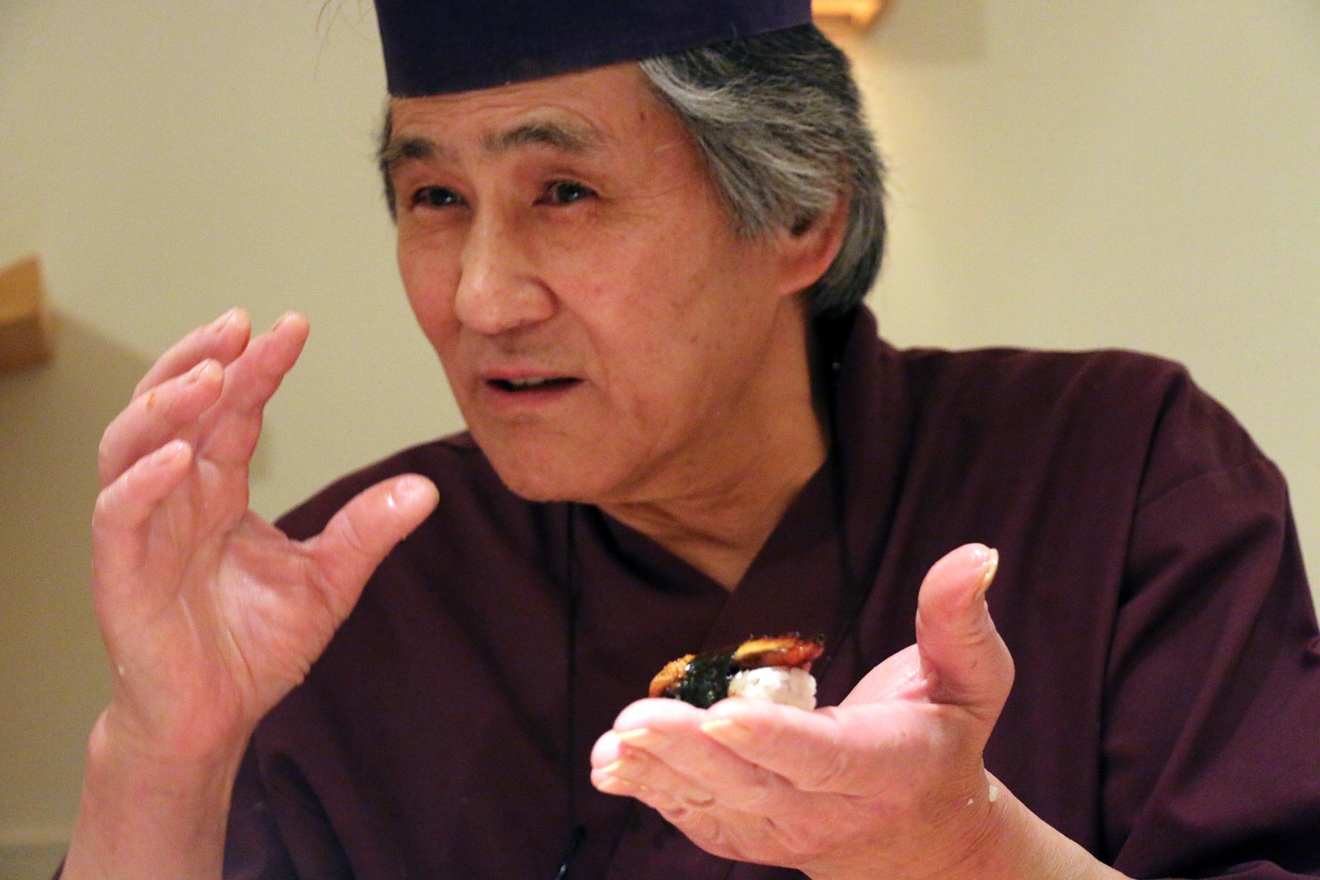 Chef Aki Kawata rules the roost at Sushi Sho.