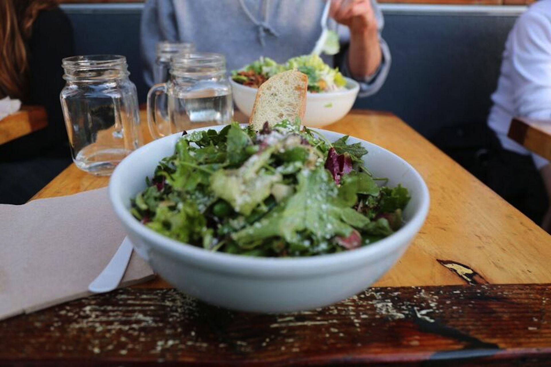 Blue Barn's spring salad