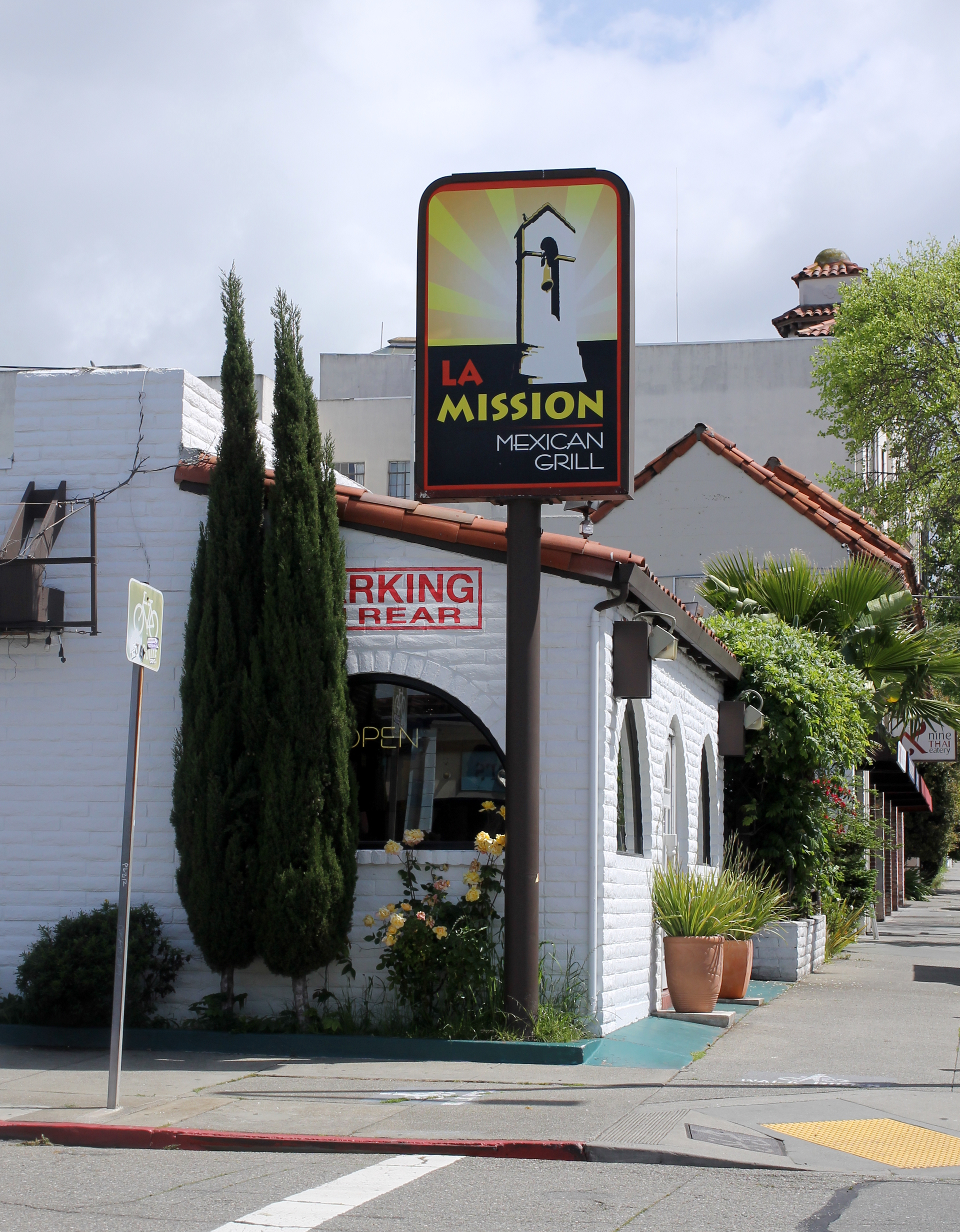 La Mission is located in a former Taco Bell on Berkeley's University Avenue.