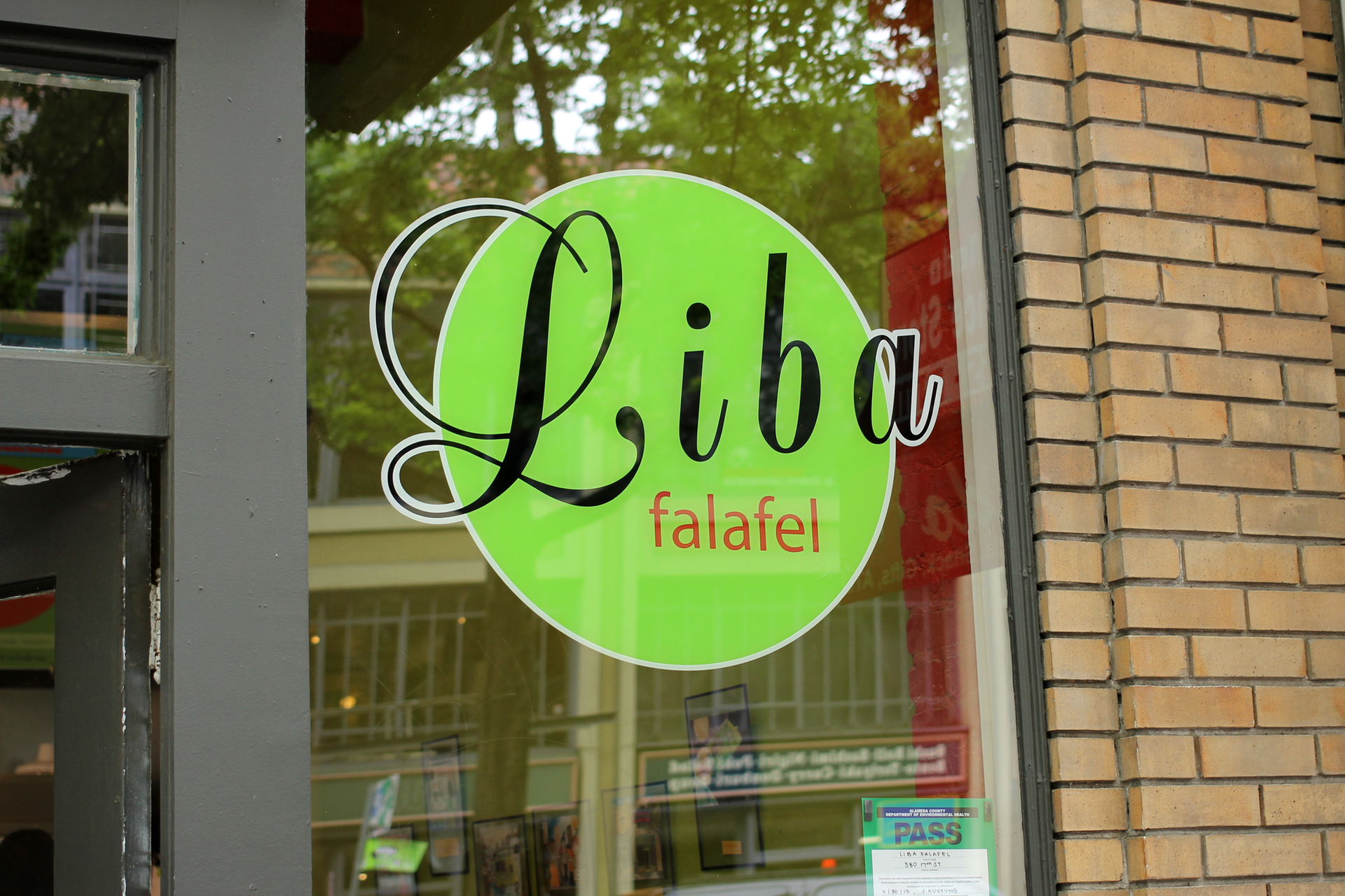 The brick-and-mortar location of Liba Falafel is only open for lunch, Monday through Friday. Check the restaurant's Twitter for its food truck schedule.