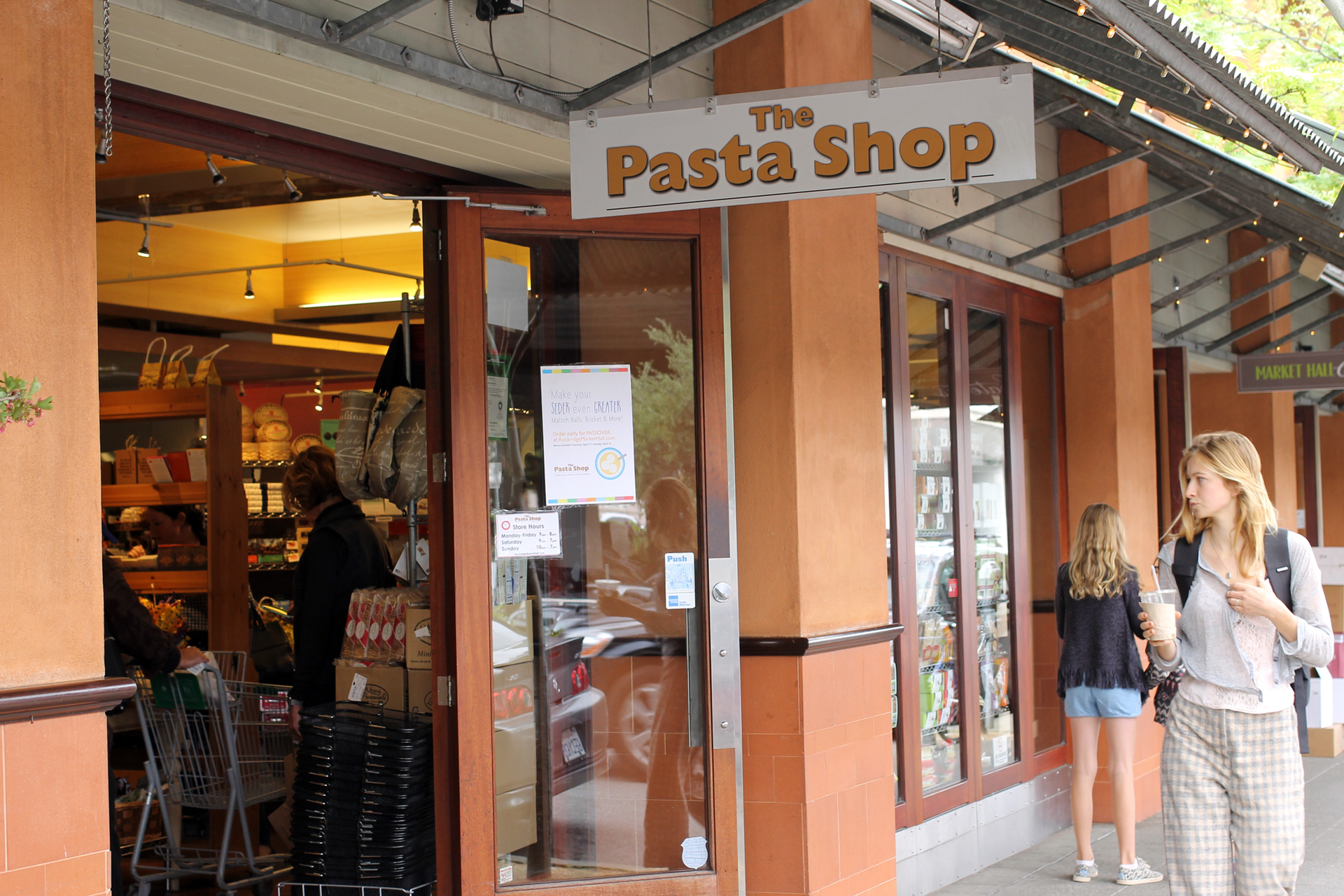The Pasta Shop in Rockridge Market Hall.