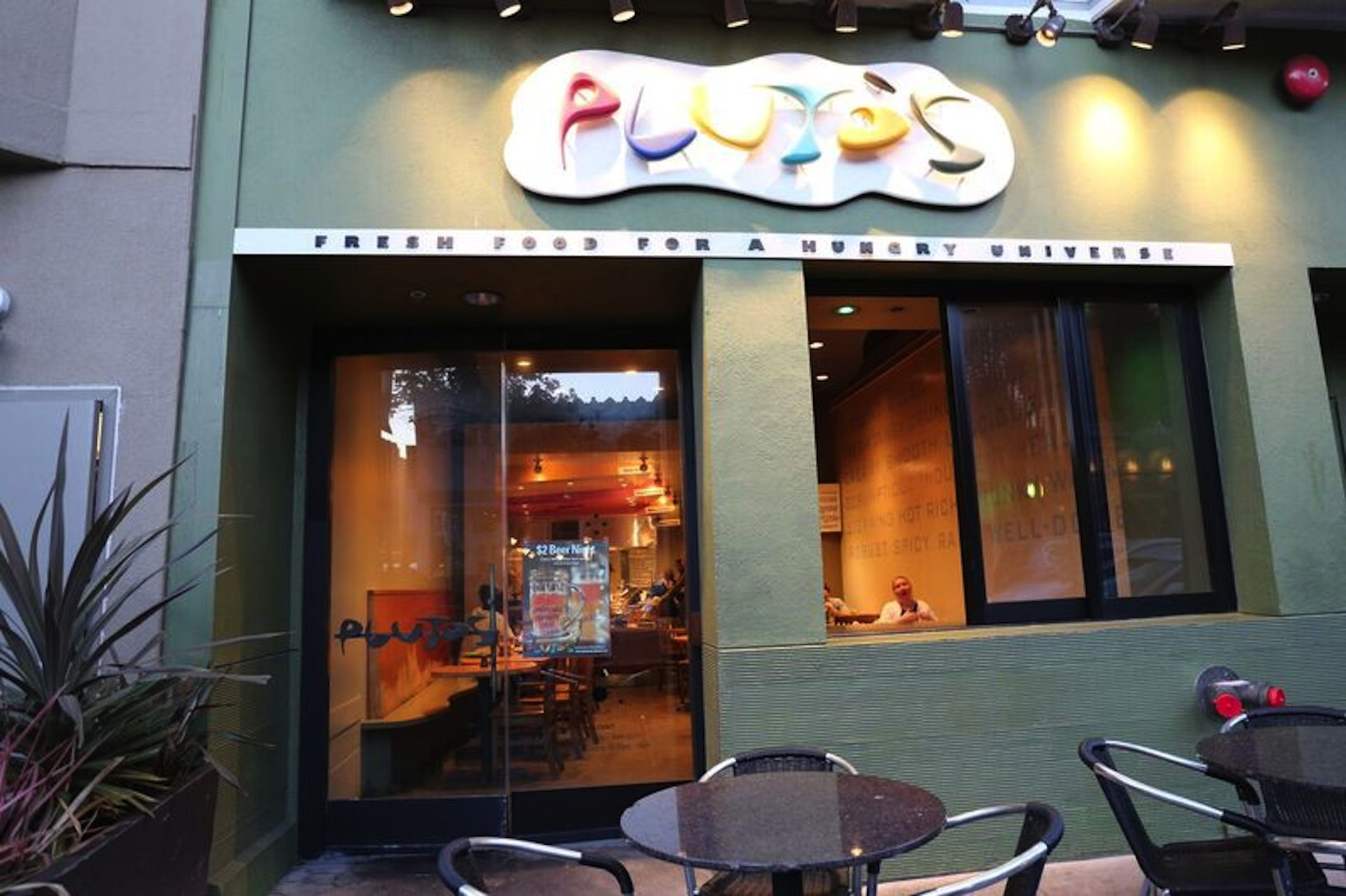 Pluto's in the Marina