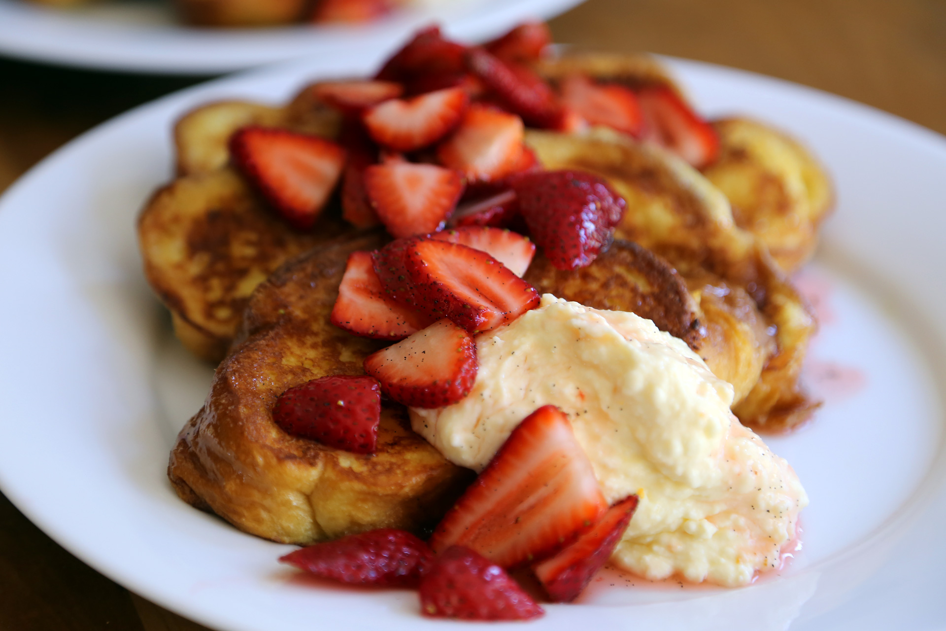 ... Day Challah French Toast with Fresh Ricotta and Strawberries