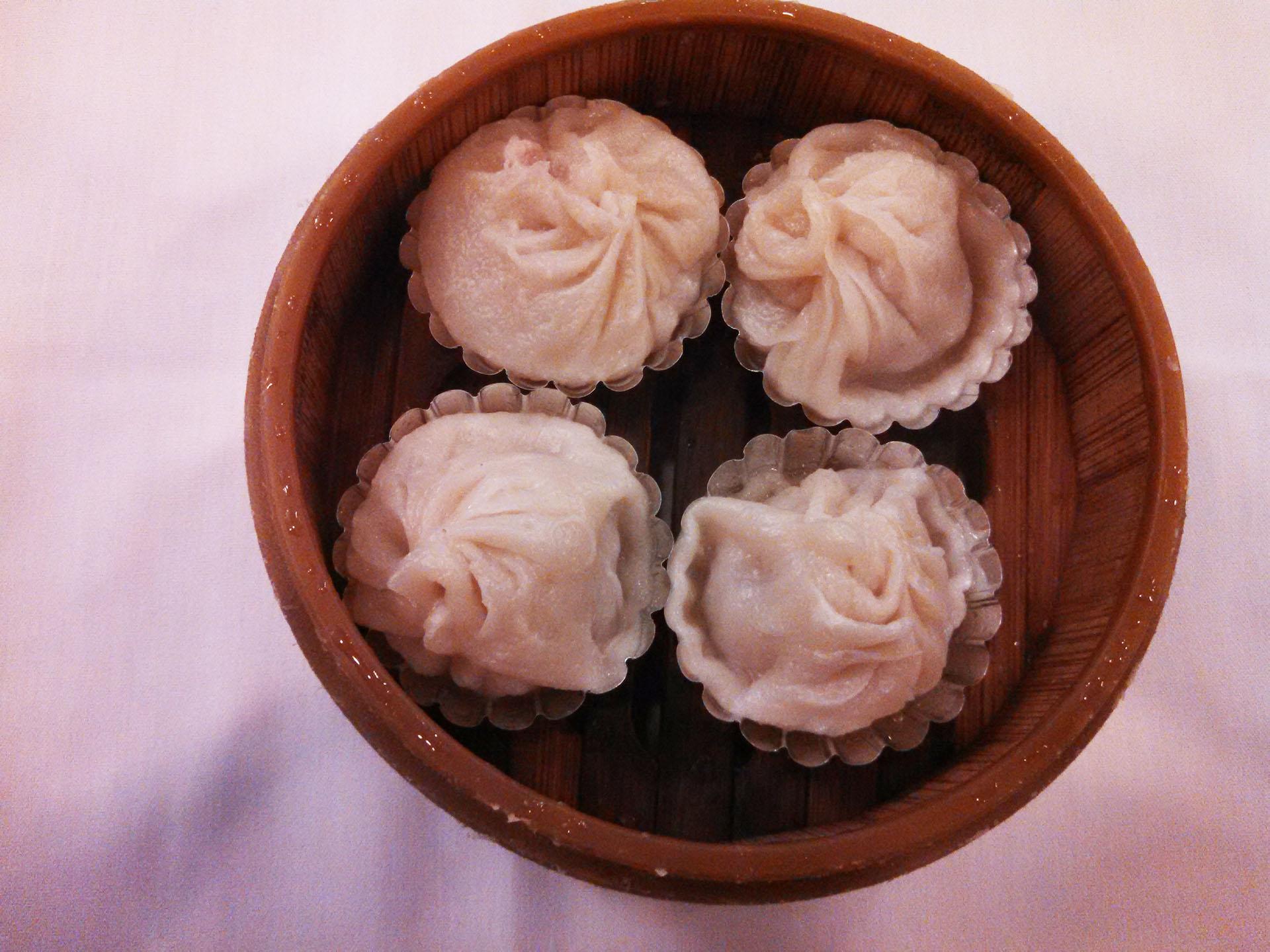 Steamed Shanghai dumplings
