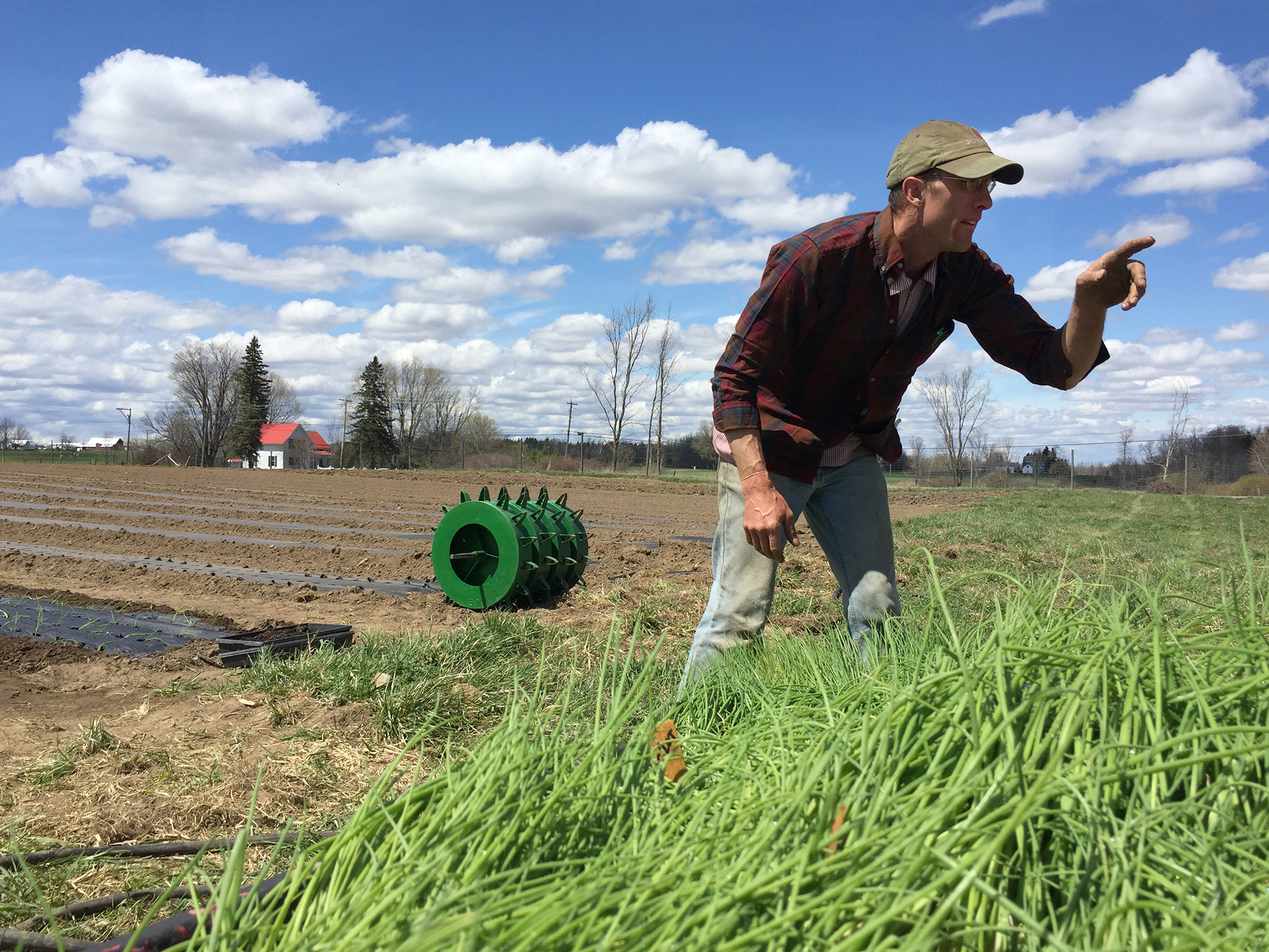 Dan Kent owns Kent Family Growers in upstate New York. This is the first year he's hired workers through the H-2A visa program. They're expected to arrive in late May — about six weeks behind schedule.