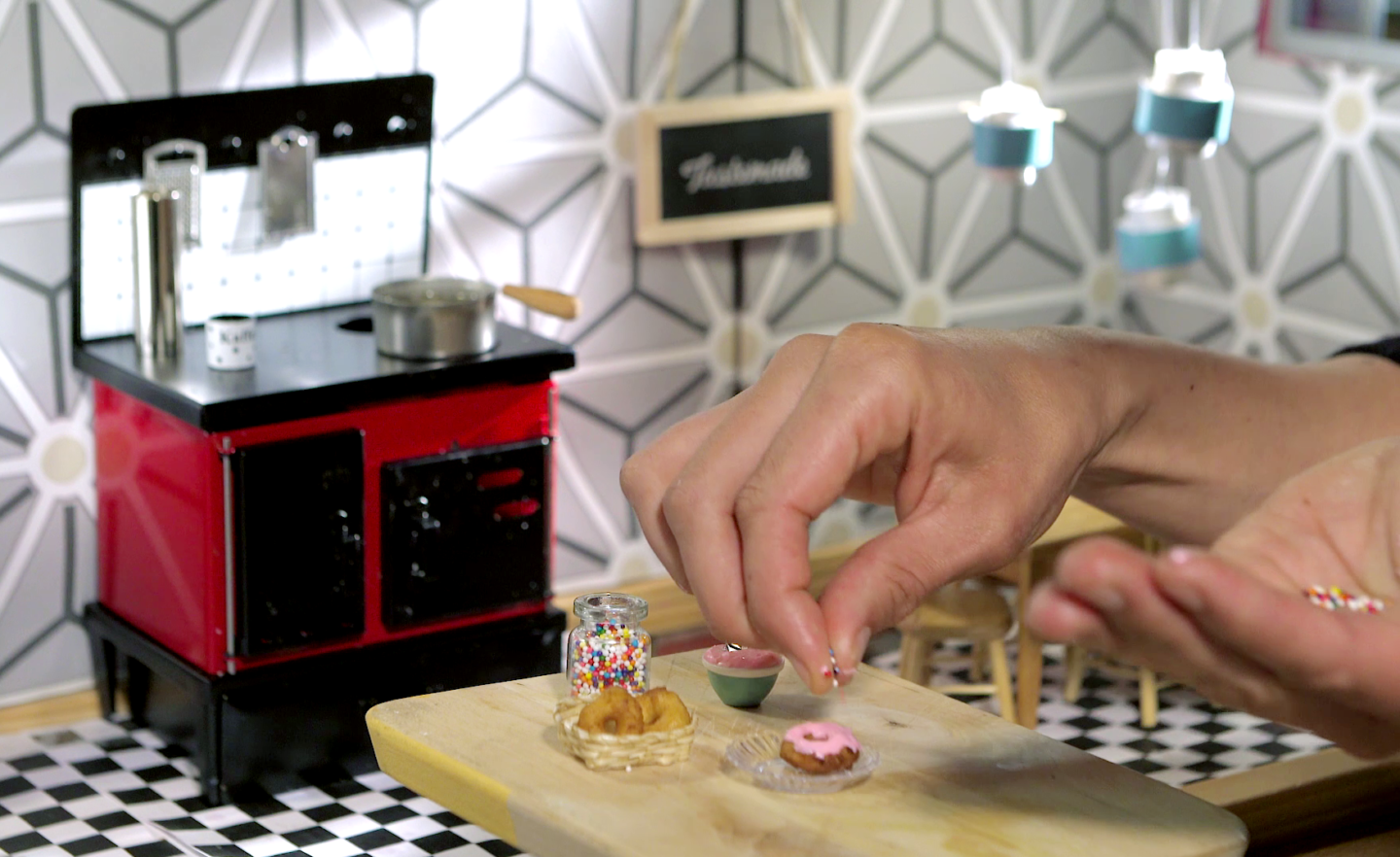 'Tiny Kitchen' Videos Cook Up Real Food In Doll-Sized Portions