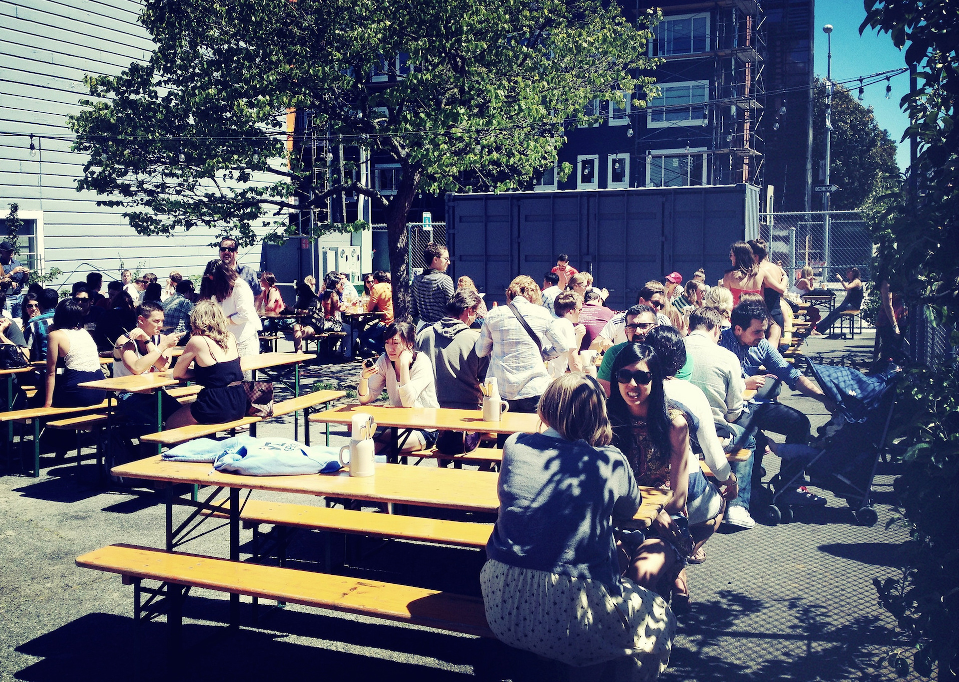 Biergarten in San San Francisco