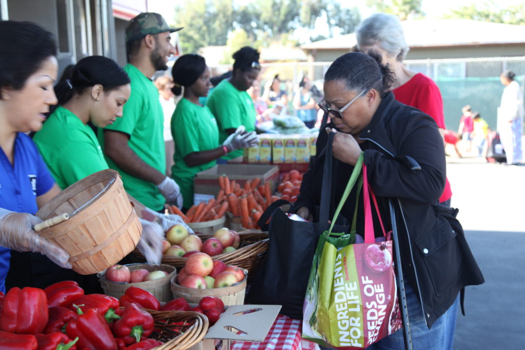 Photos courtesy of Alameda County Community Food Bank