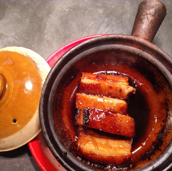 Caramelized Pork Belly at Kin Khao