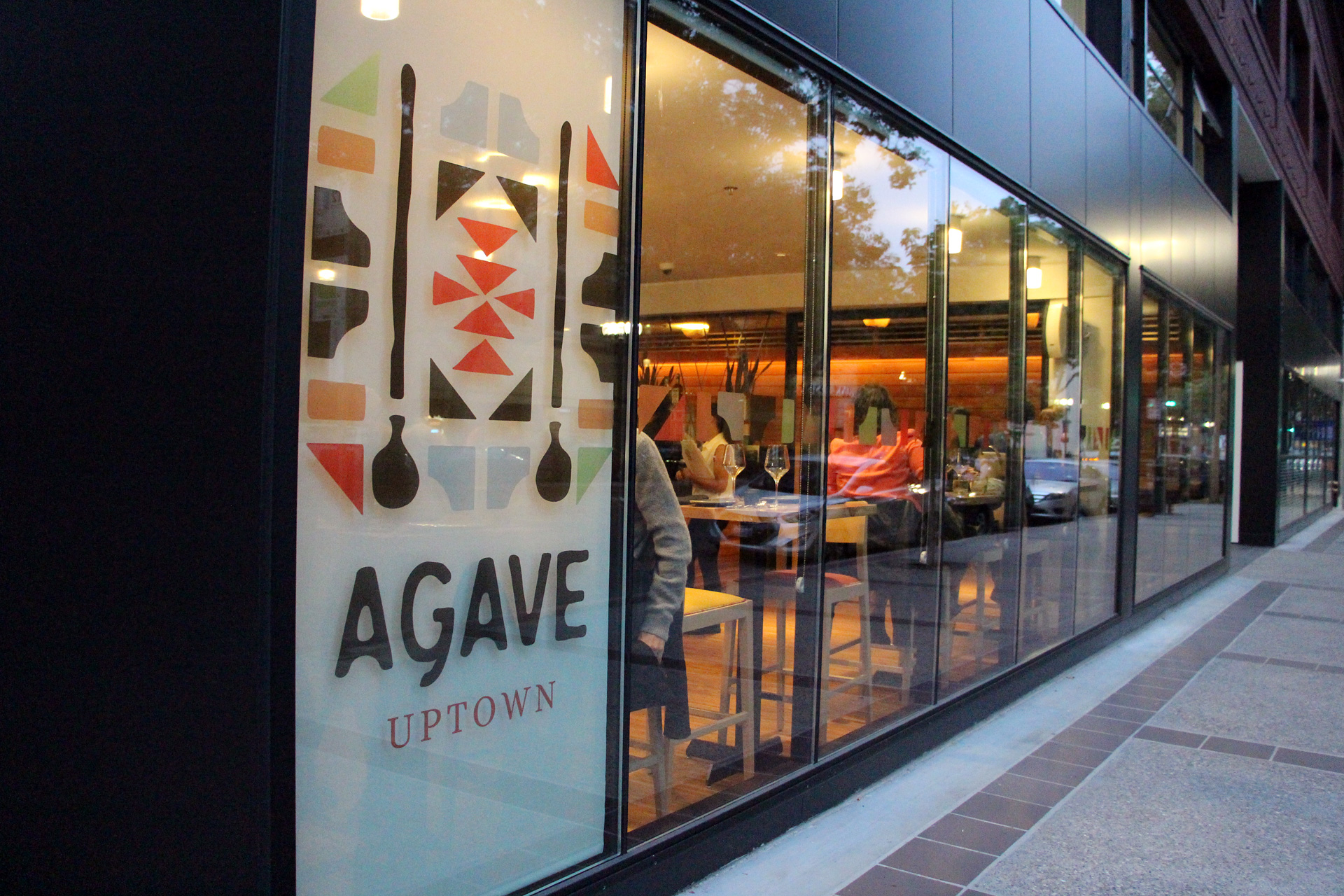 Agave Uptown exterior