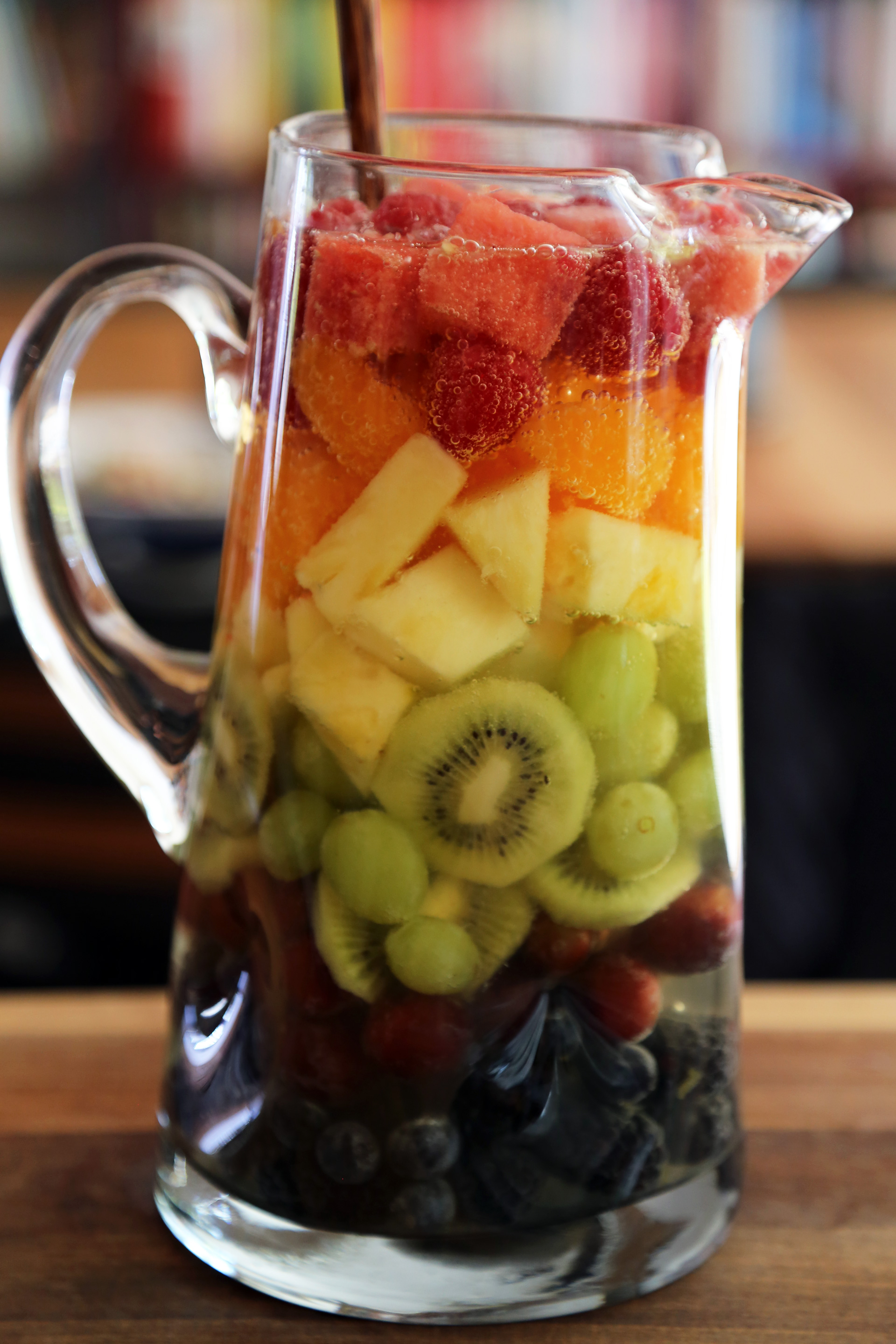 Summer Rainbow Sangria