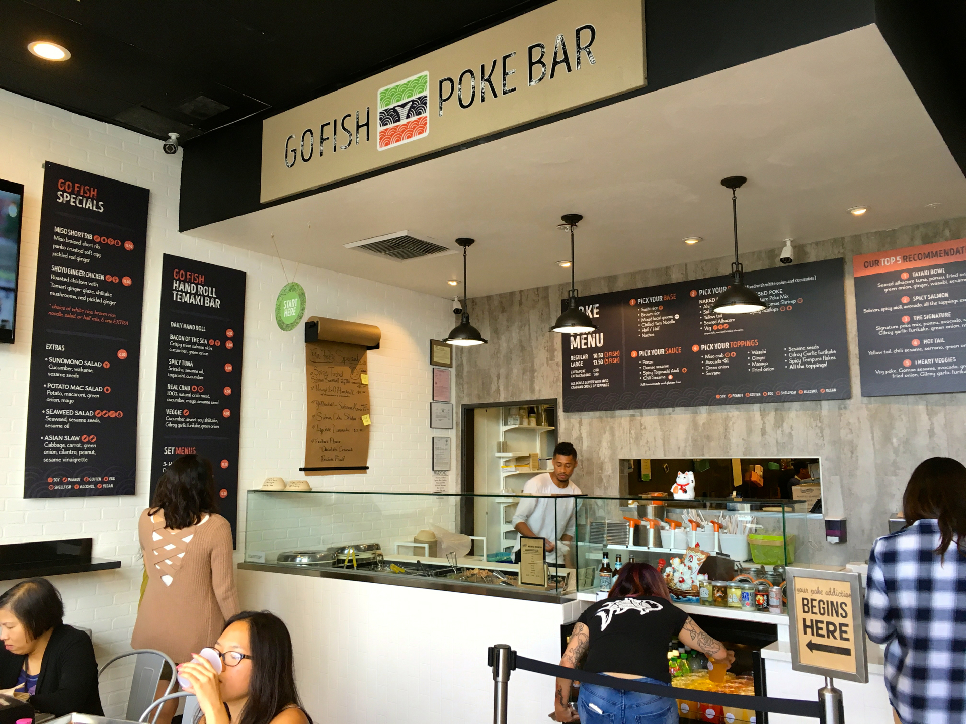 Five great restaurants to enjoy poke bowls south of san for Fish store san francisco