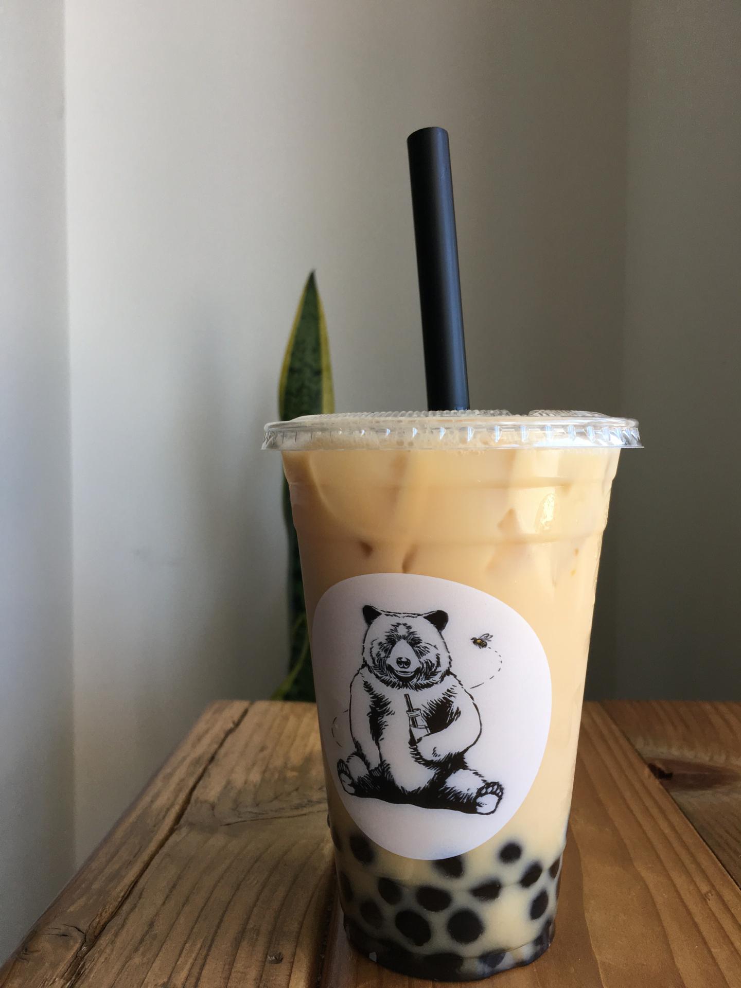 Jasmine green milk tea at Tea Lyfe.