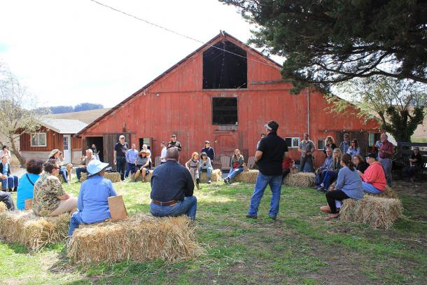 Stemple Creek Ranch tour