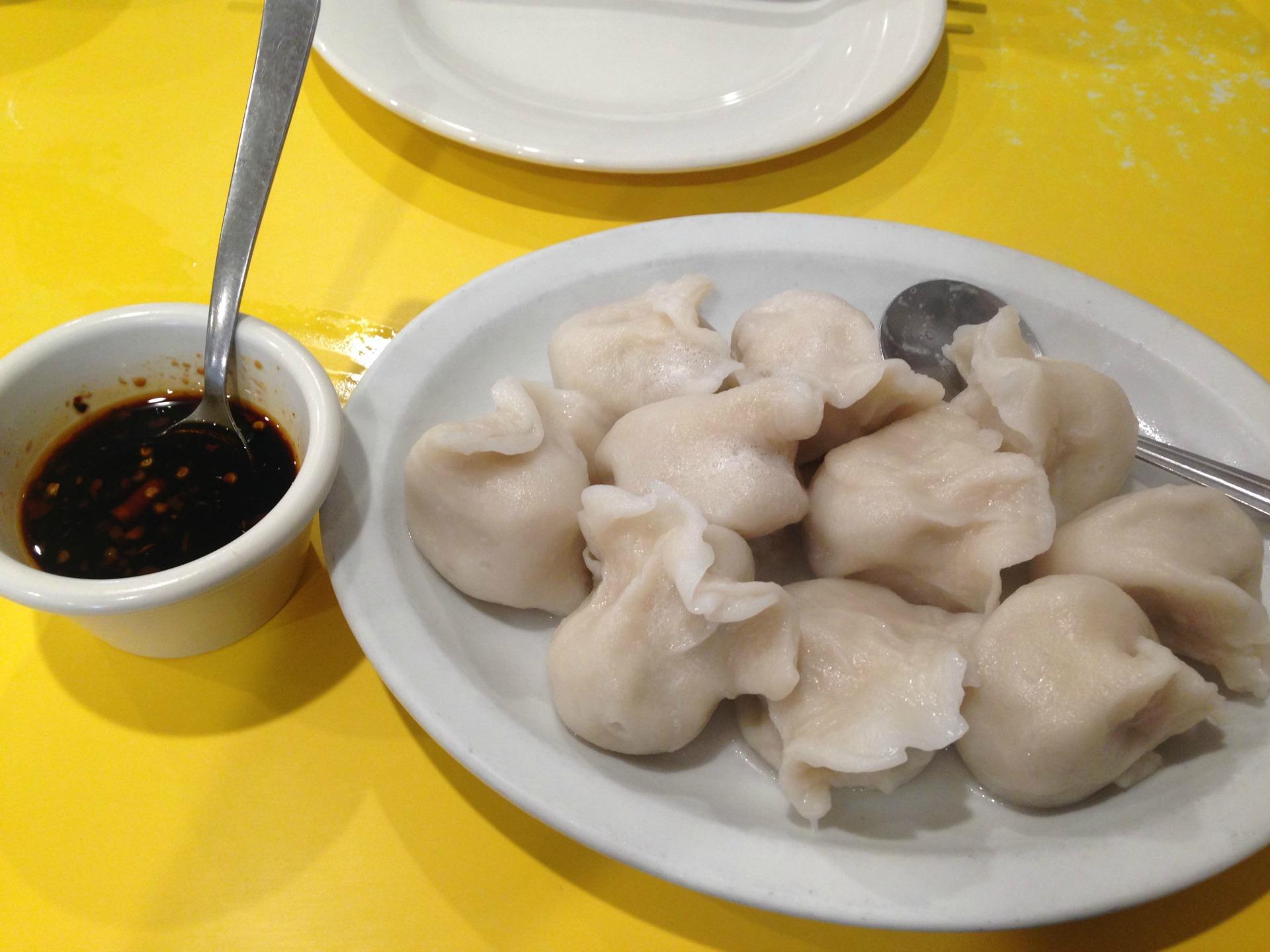 Shan Dong's homemade dumplings.