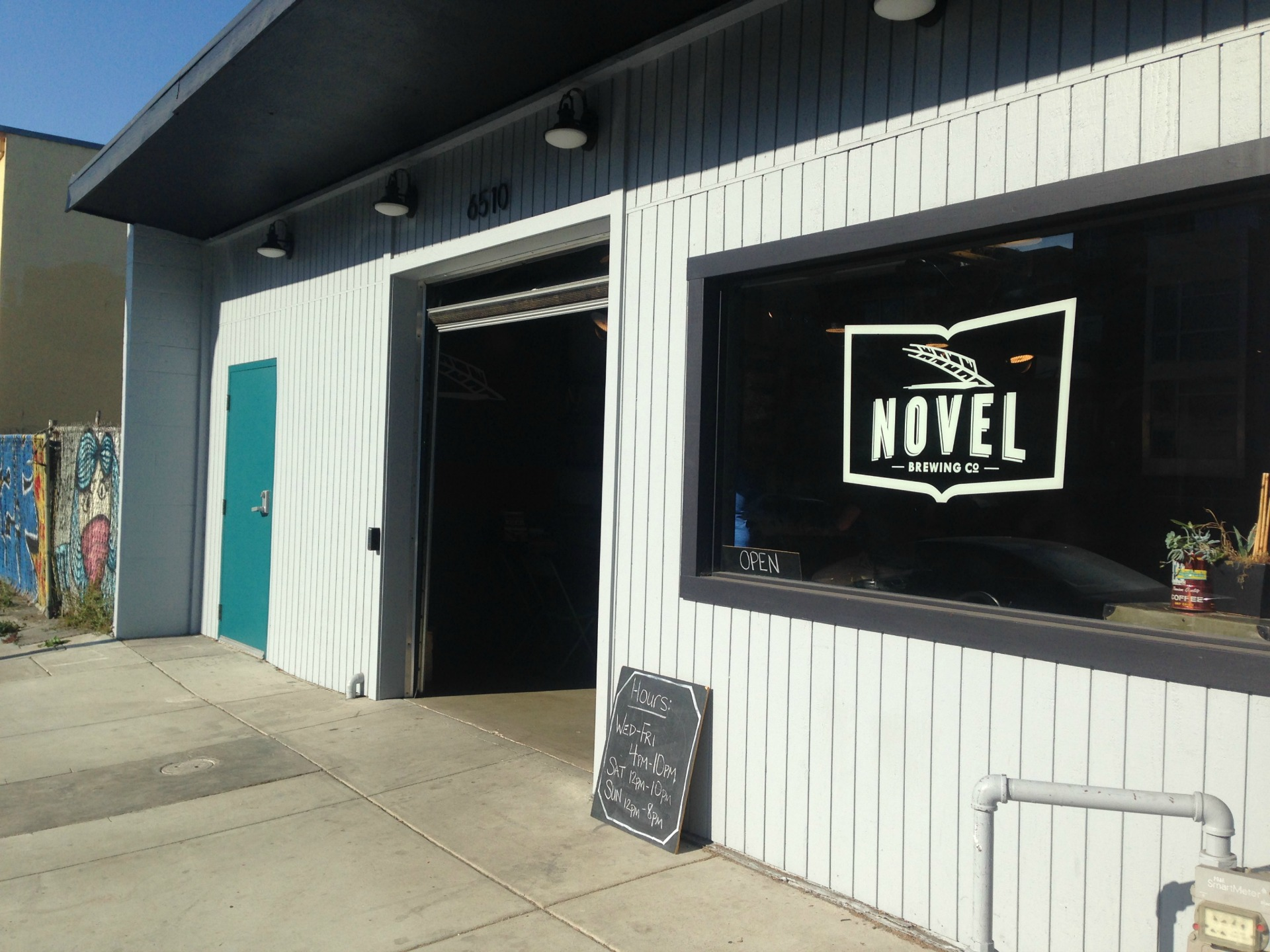 Novel Brewing is located in Oakland's Golden Gate neighborhood.