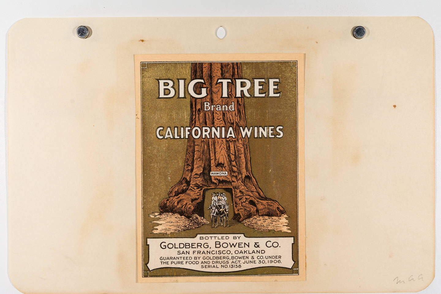 Distilling The Story Of California Wine, One Label At A Time