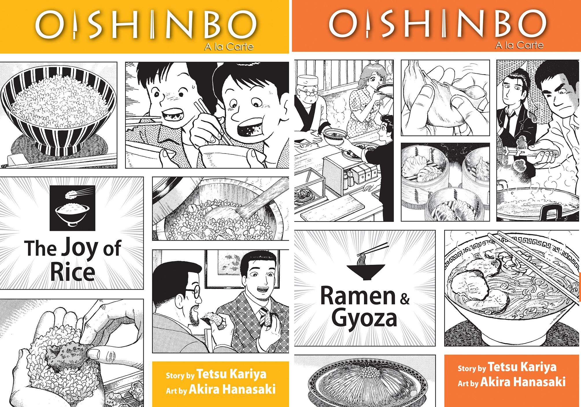 Oishinbo, written by Tetsu Kariya and drawn by Akira Hanasaki, is one of the oldest of the food manga.