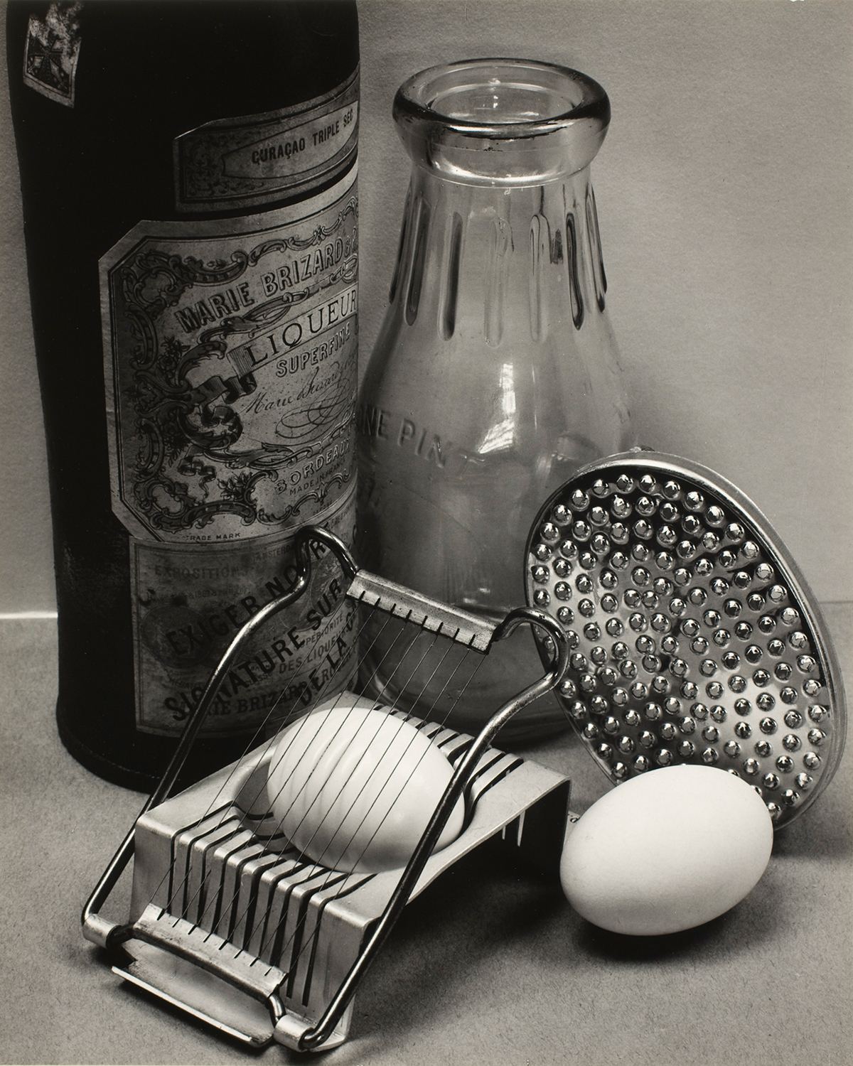 Ansel Adams, Still Life, San Francisco, 1932, with the recipe: Ansel Adams's Poached Eggs in Beer.