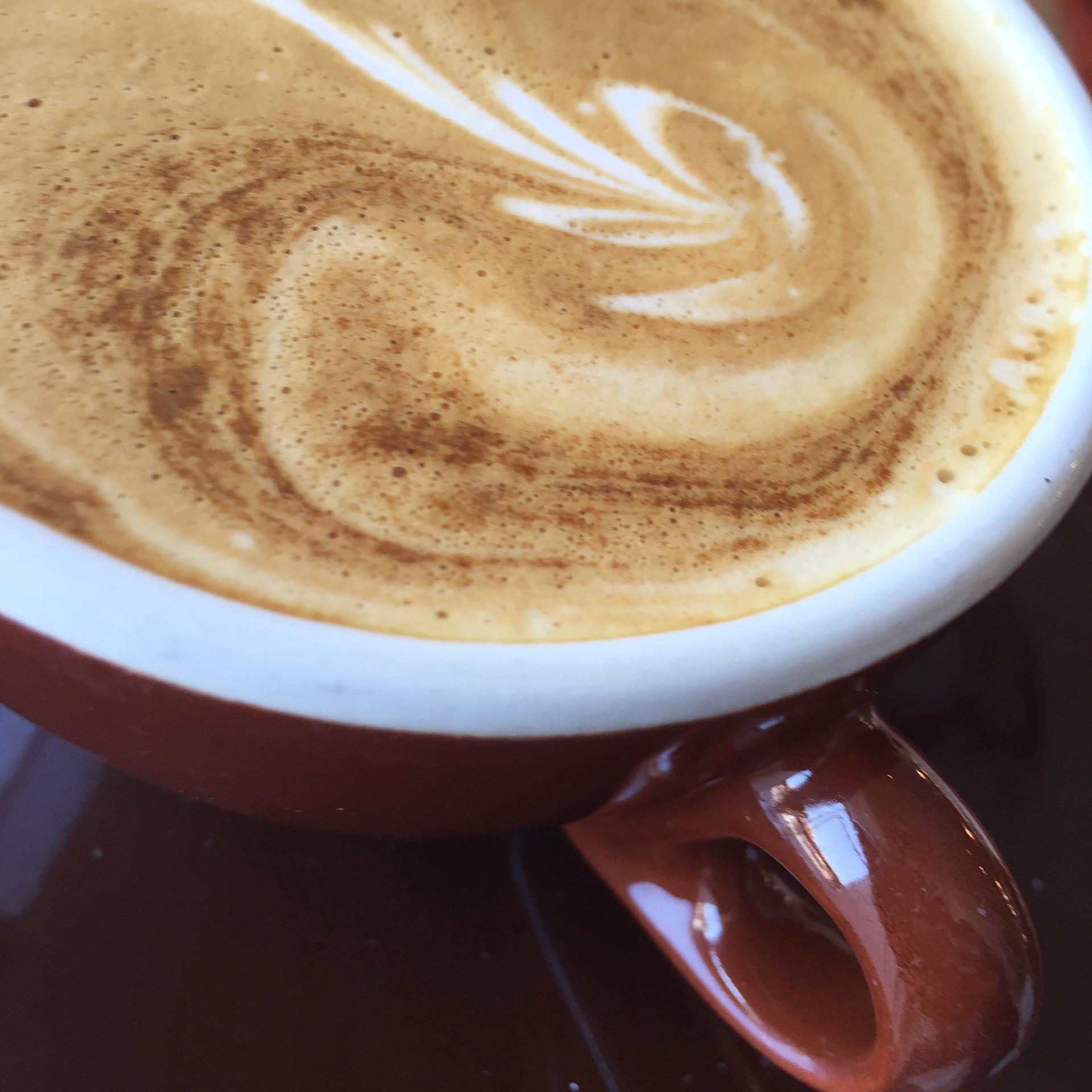 Hearth cappuccino