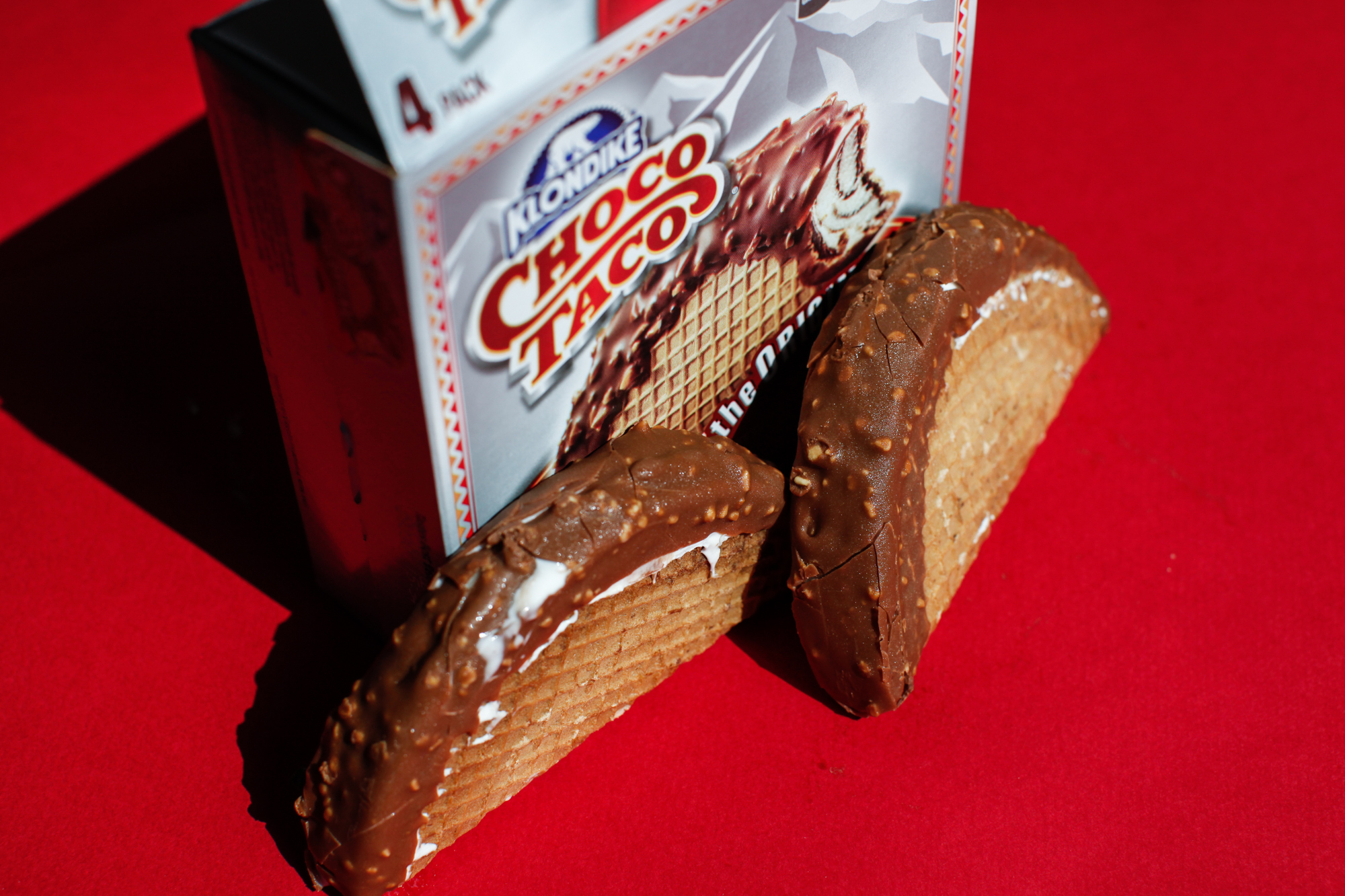 Though eating a Choco Taco doesn't typically remind one of eating Mexican food, the idea was tapping into an '80s trend.