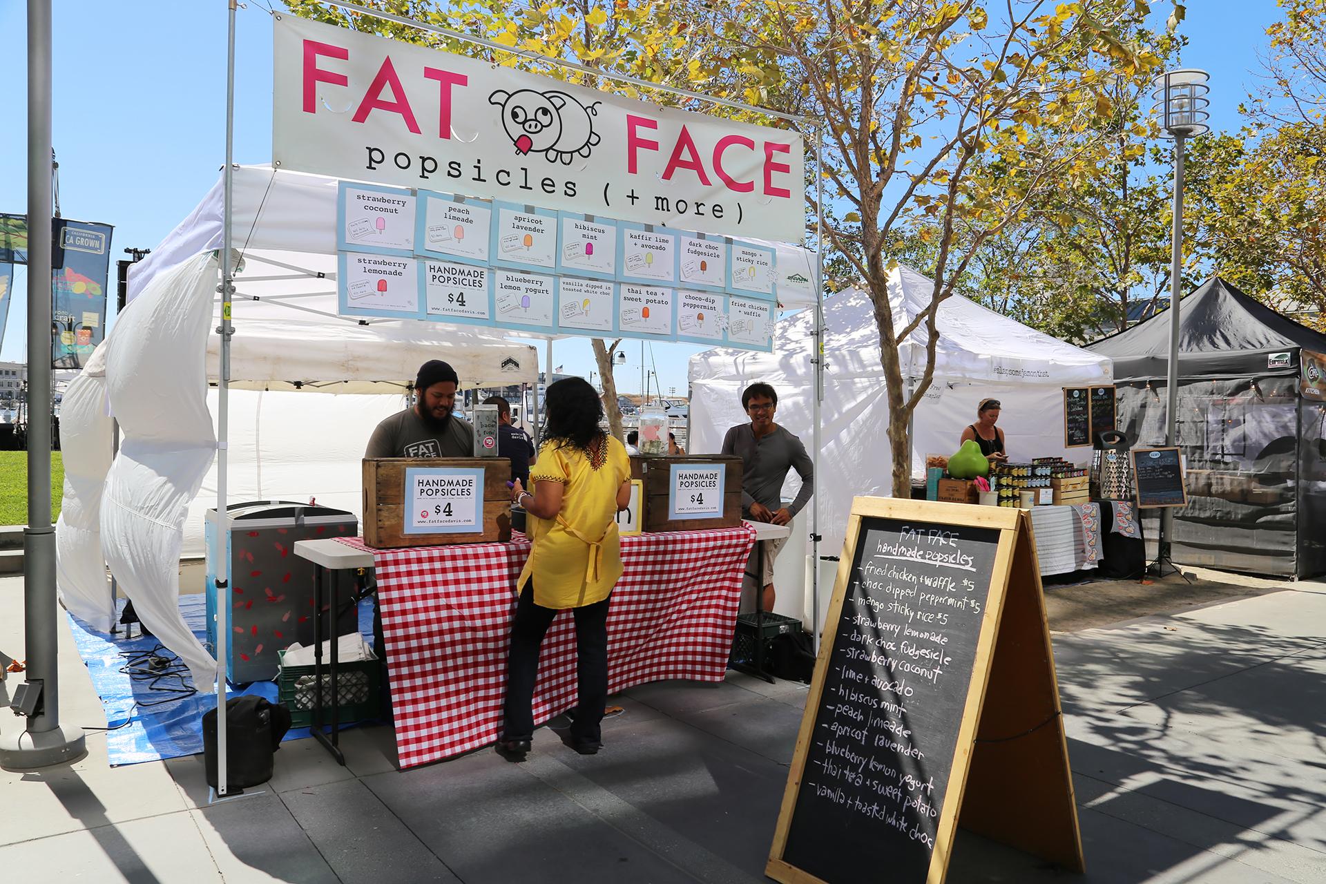 Fat Face popsicles