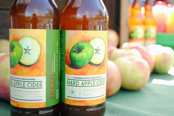 Hidden Star Orchards Hard Apple Cider