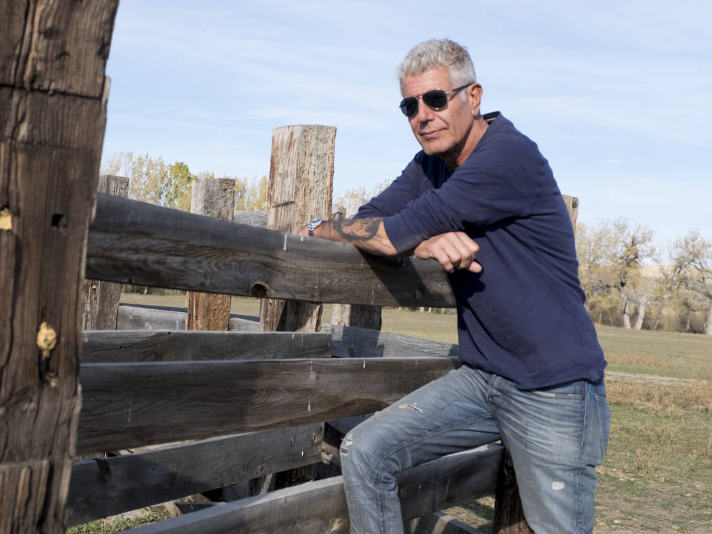 "Bourdain began his career as a dishwasher, and jokes that he learned ""all the most important lessons"" of his life scrubbing dishes."