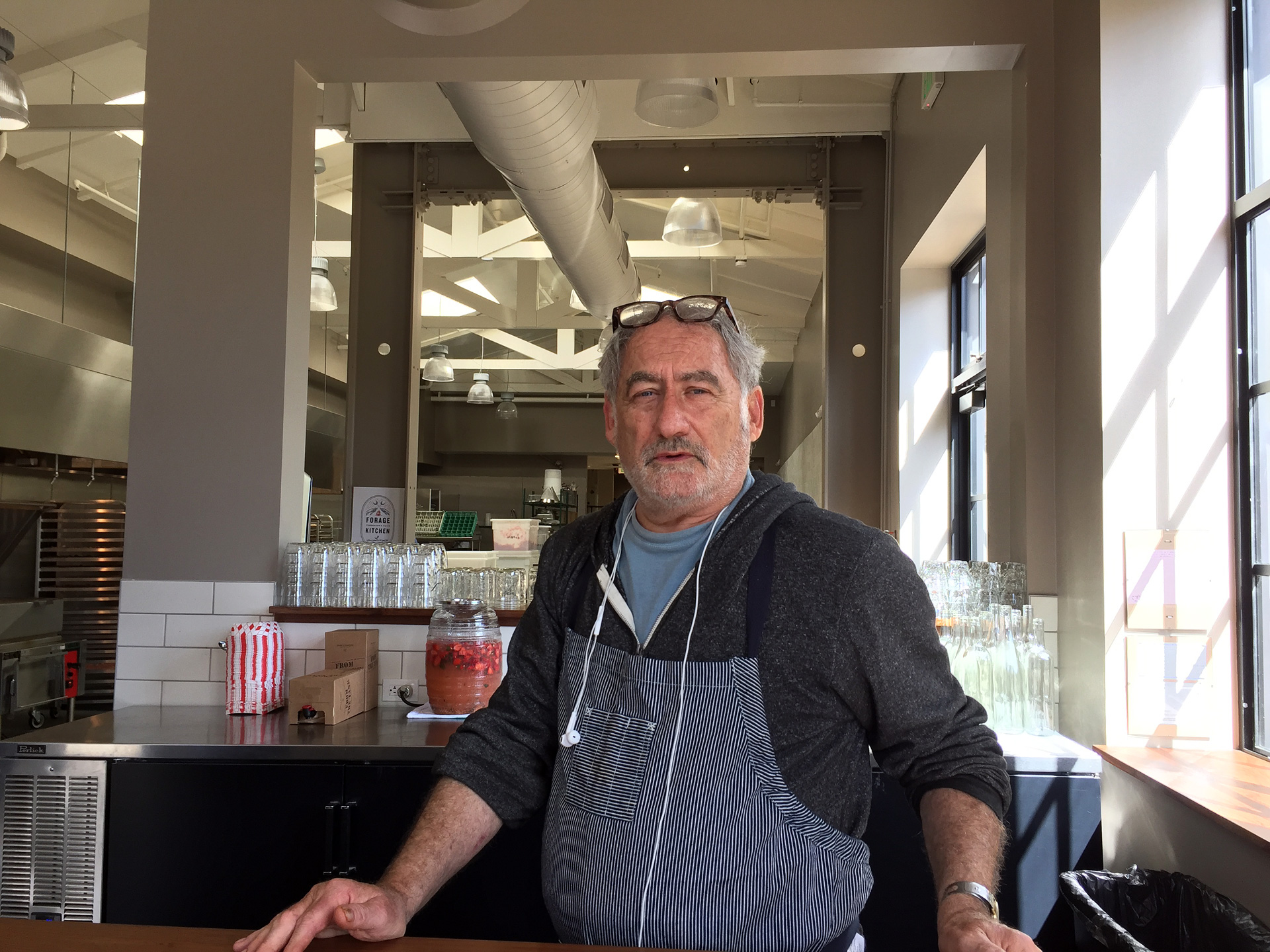 Jeff Mason, sandwich mastermind at Pal's Kitchen