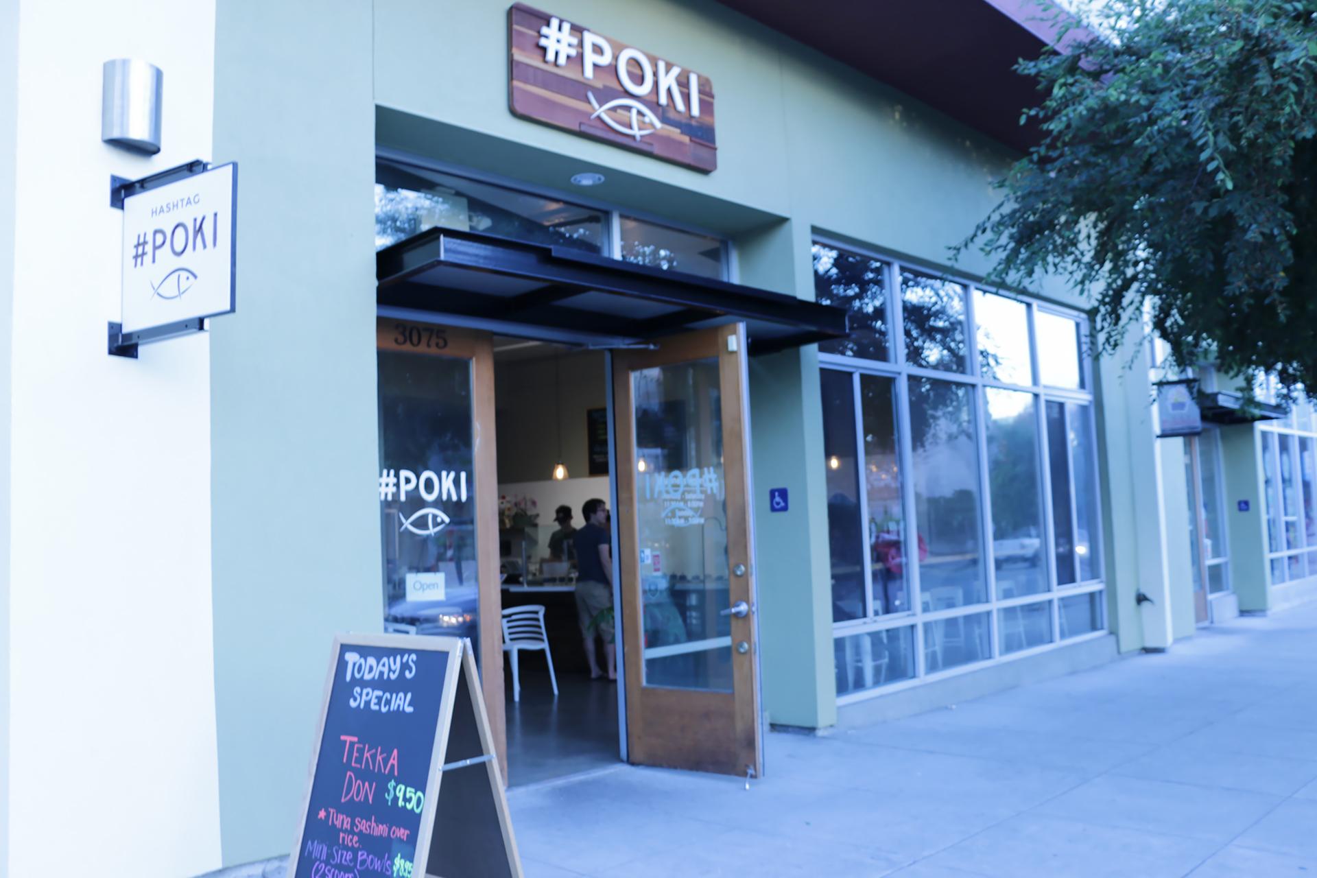 Hashtag Poki in South Berkeley.