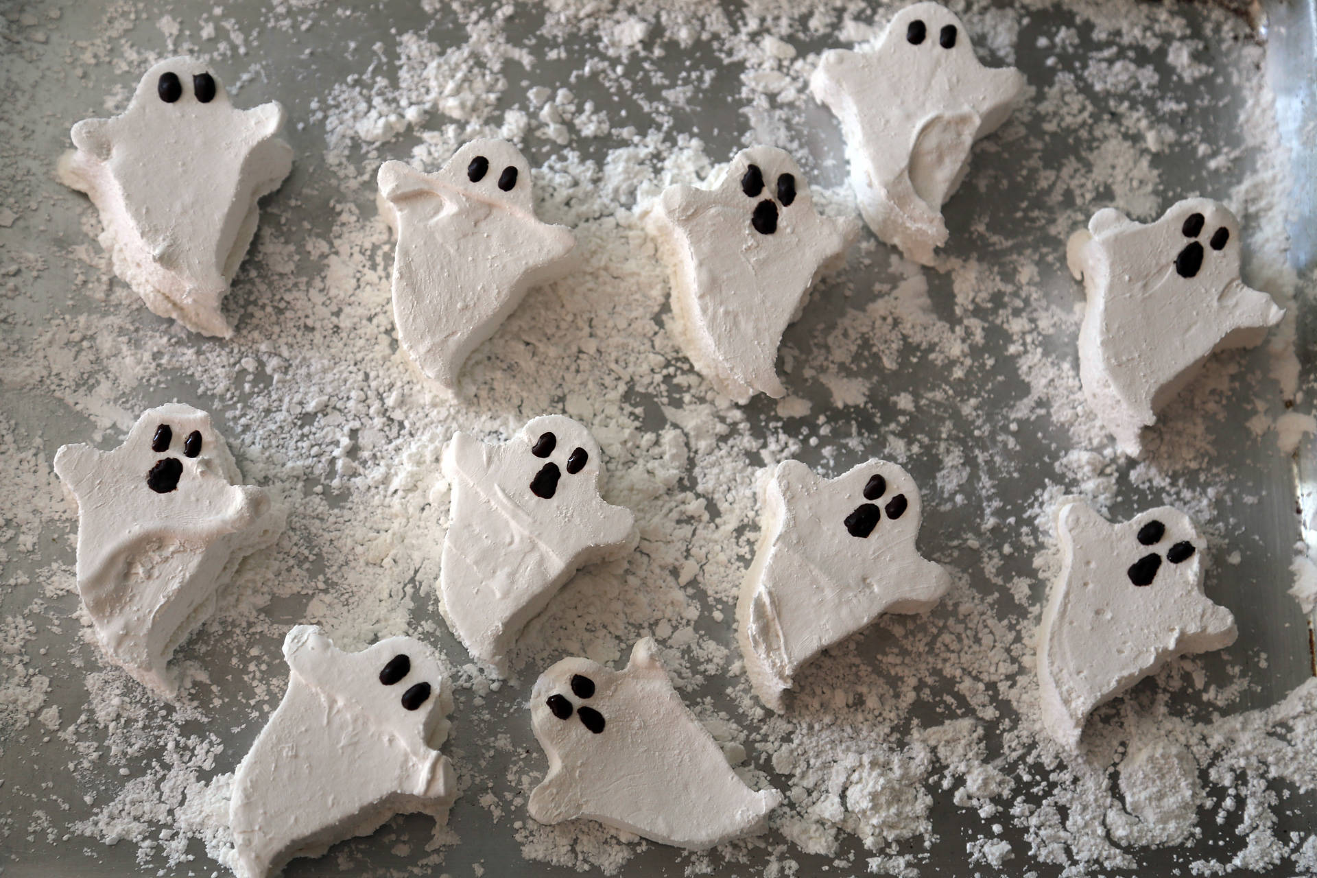 Homemade Marshmallow Ghosts Wendy Goodfriend