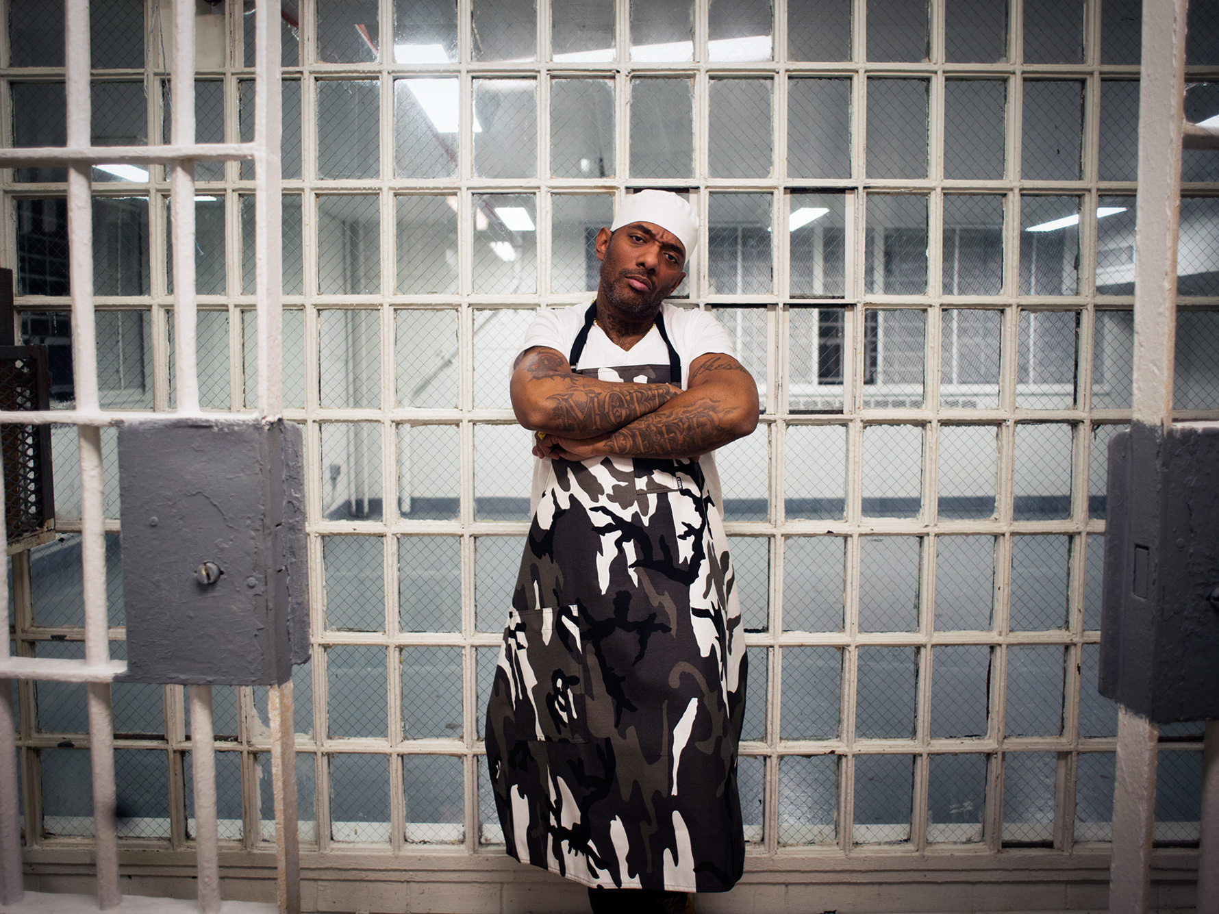 "After he was sentenced for illegally possessing a firearm, Albert ""Prodigy"" Johnson, of the hip-hop duo Mobb Deep, discovered how hard it was to eat healthy behind bars. His new cookbook tells the story."