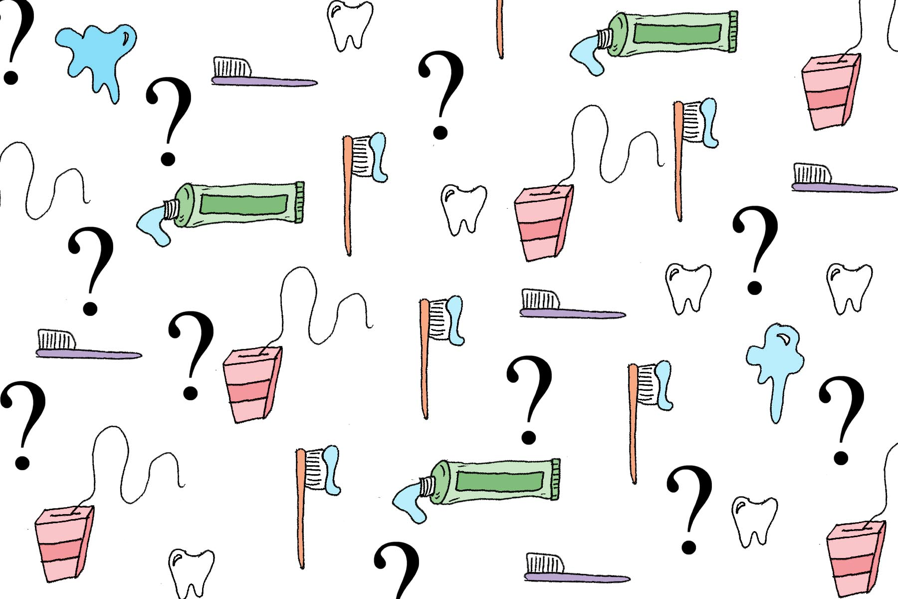 Is oral hygiene just brushing and flossing?
