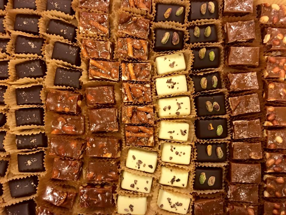 Chocolates from Hooker's Sweet Treats