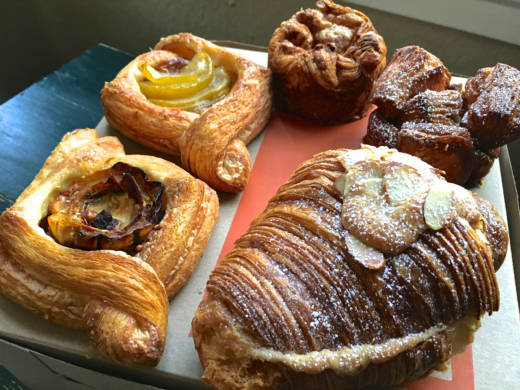 A selection of pastries from Manresa Bread.