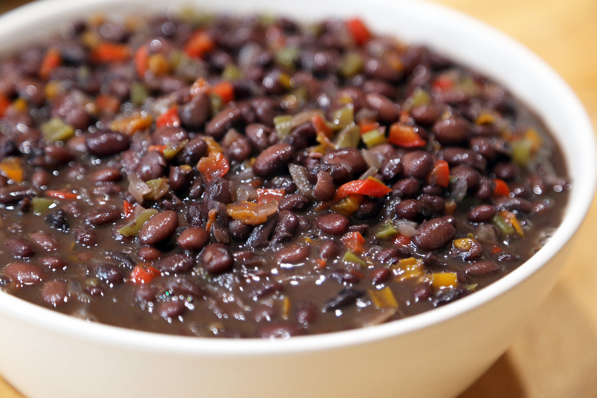 Serve the Savory Black Beans