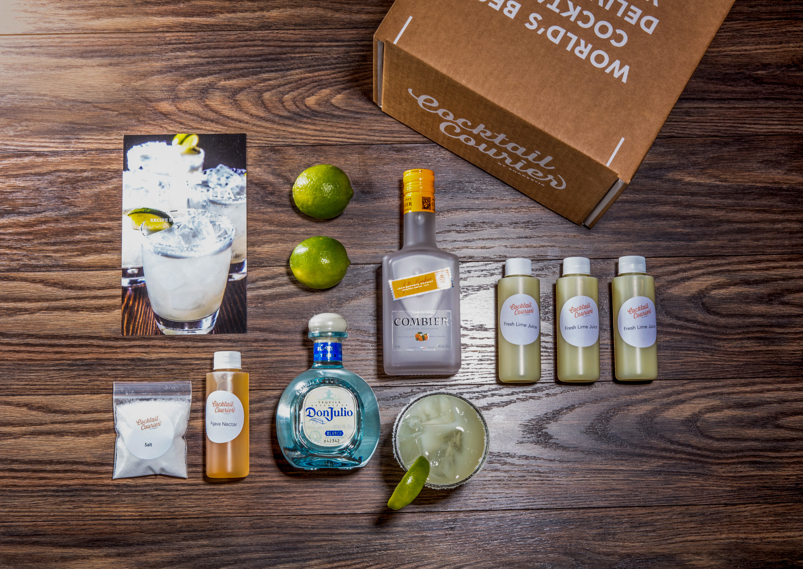 A margarita kit from Cocktail Courier.