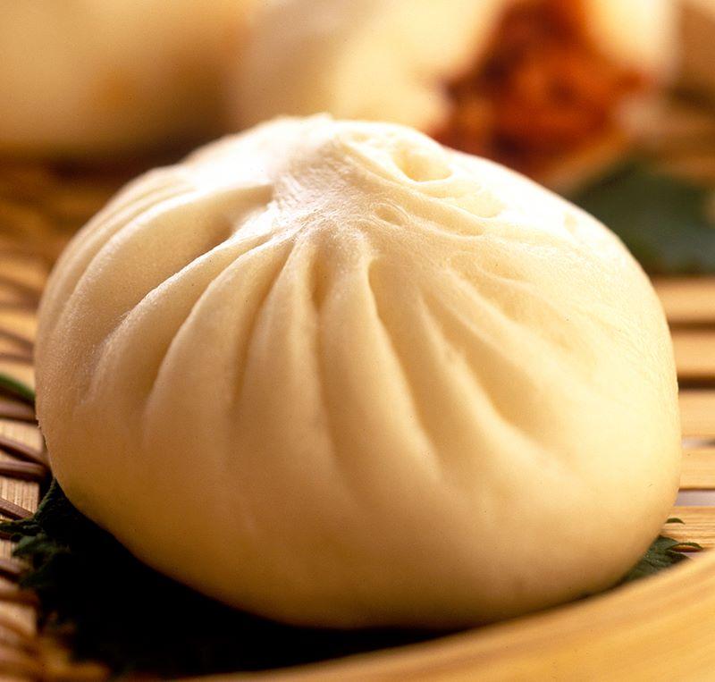 A dumpling at Yank Sing.