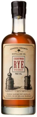 Cherrywood Rye Whiskey from Sonoma County Distilling Co.