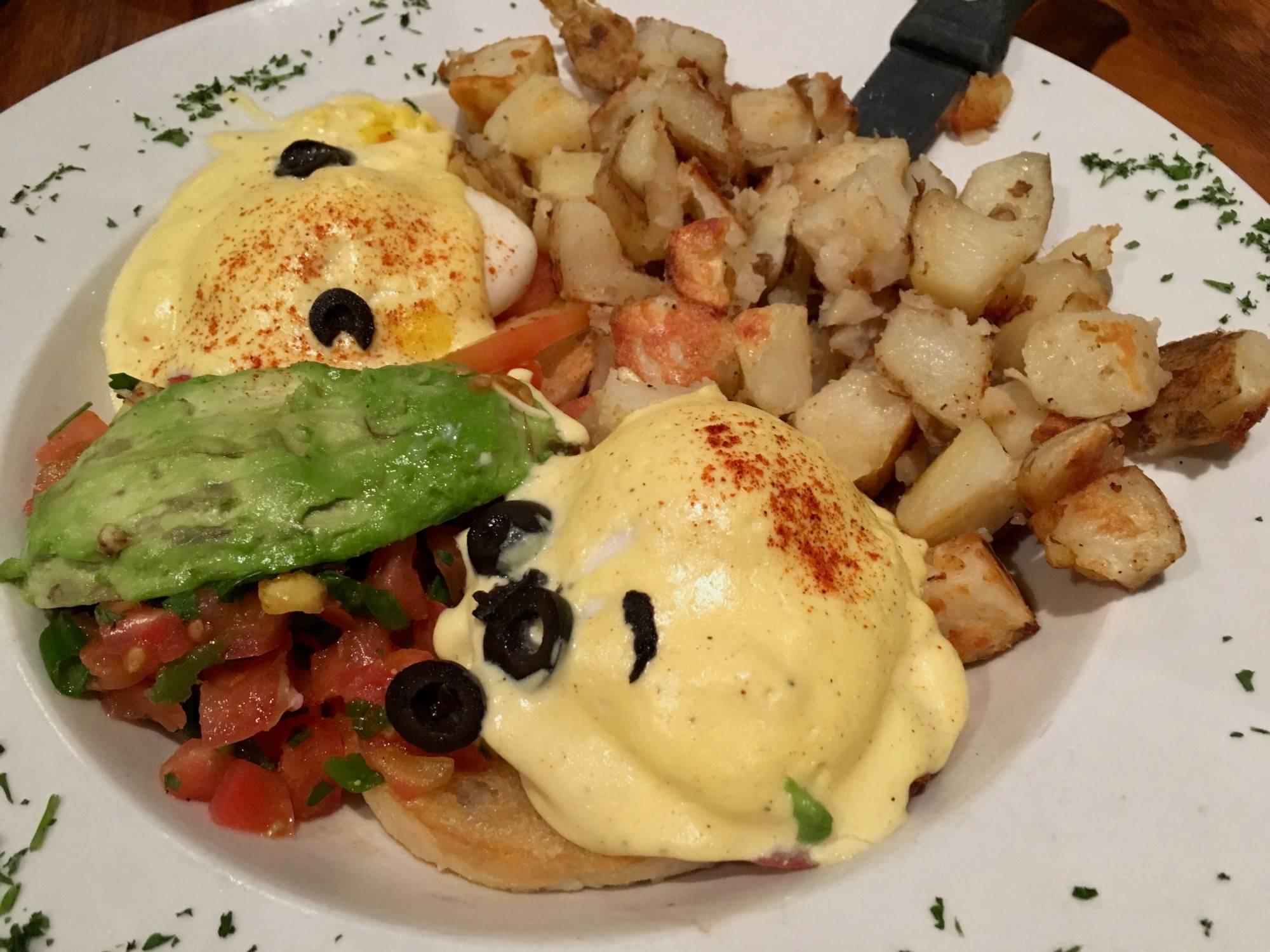 The Huevos Rancheros Omelet at Hobee's in Palo Alto.