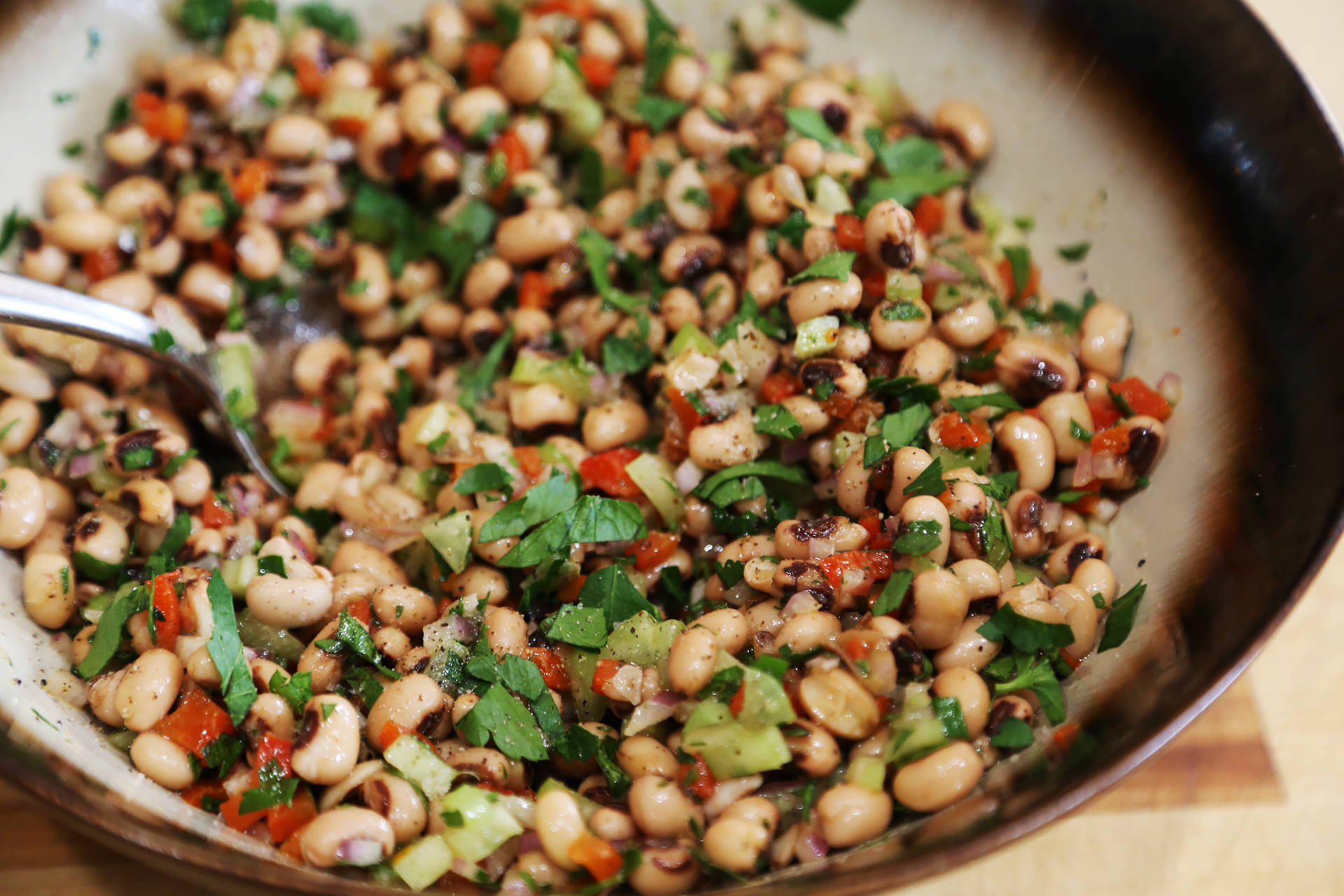 Healthy Black-Eyed Pea Salad Wendy Goodfriend