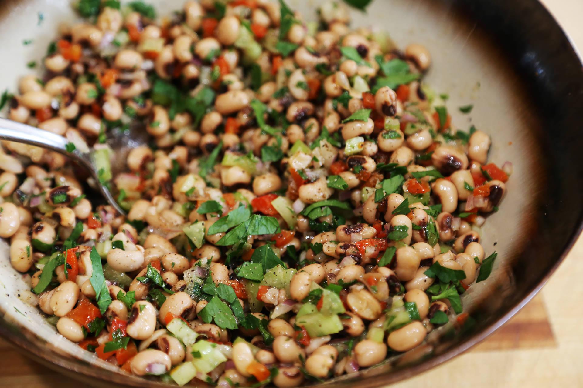 Healthy Black-Eyed Pea Salad Wendy Goodfriend