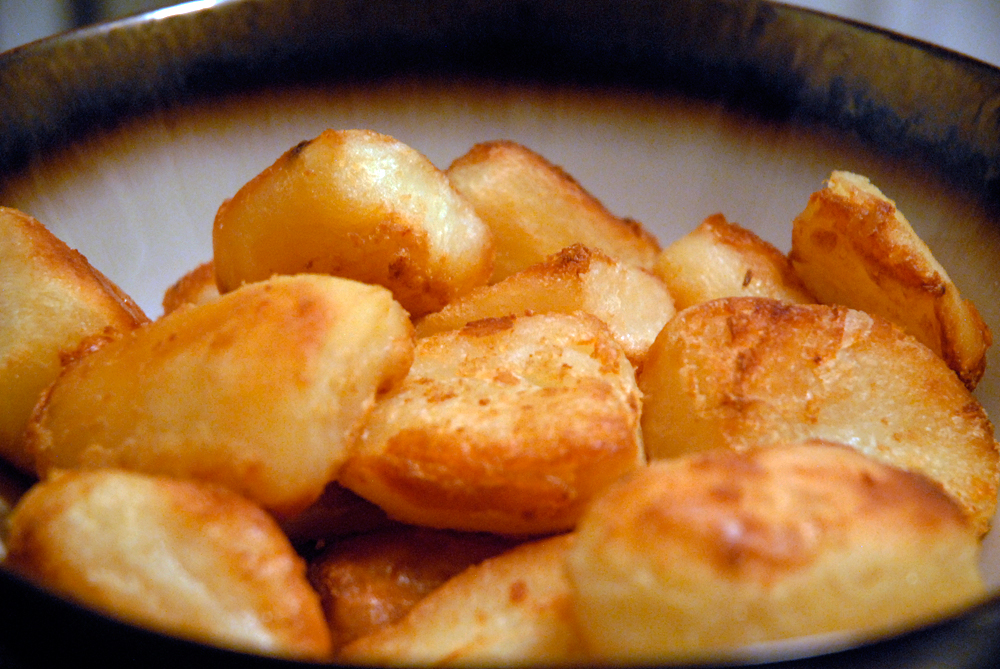 British-Style Roasties