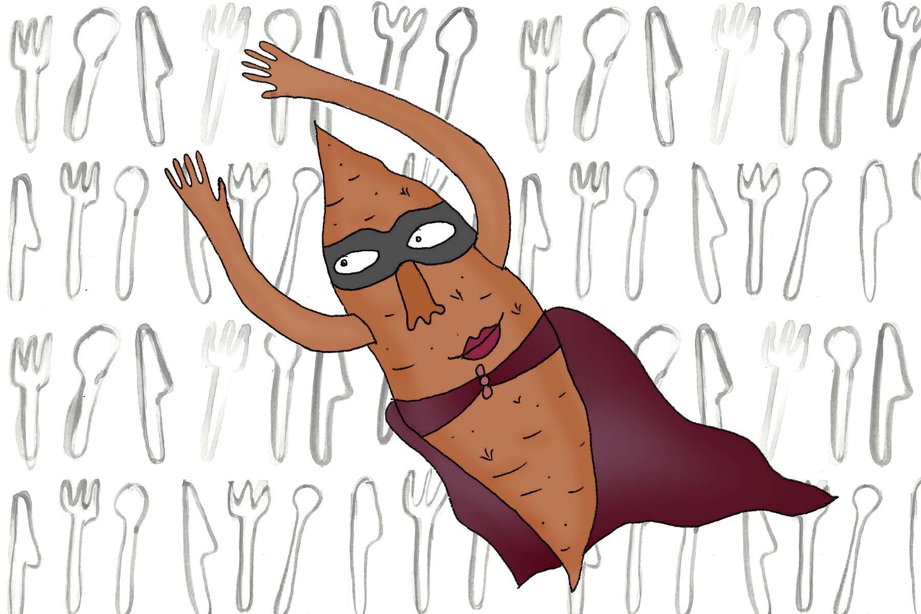 Sweet potato, the super tuber